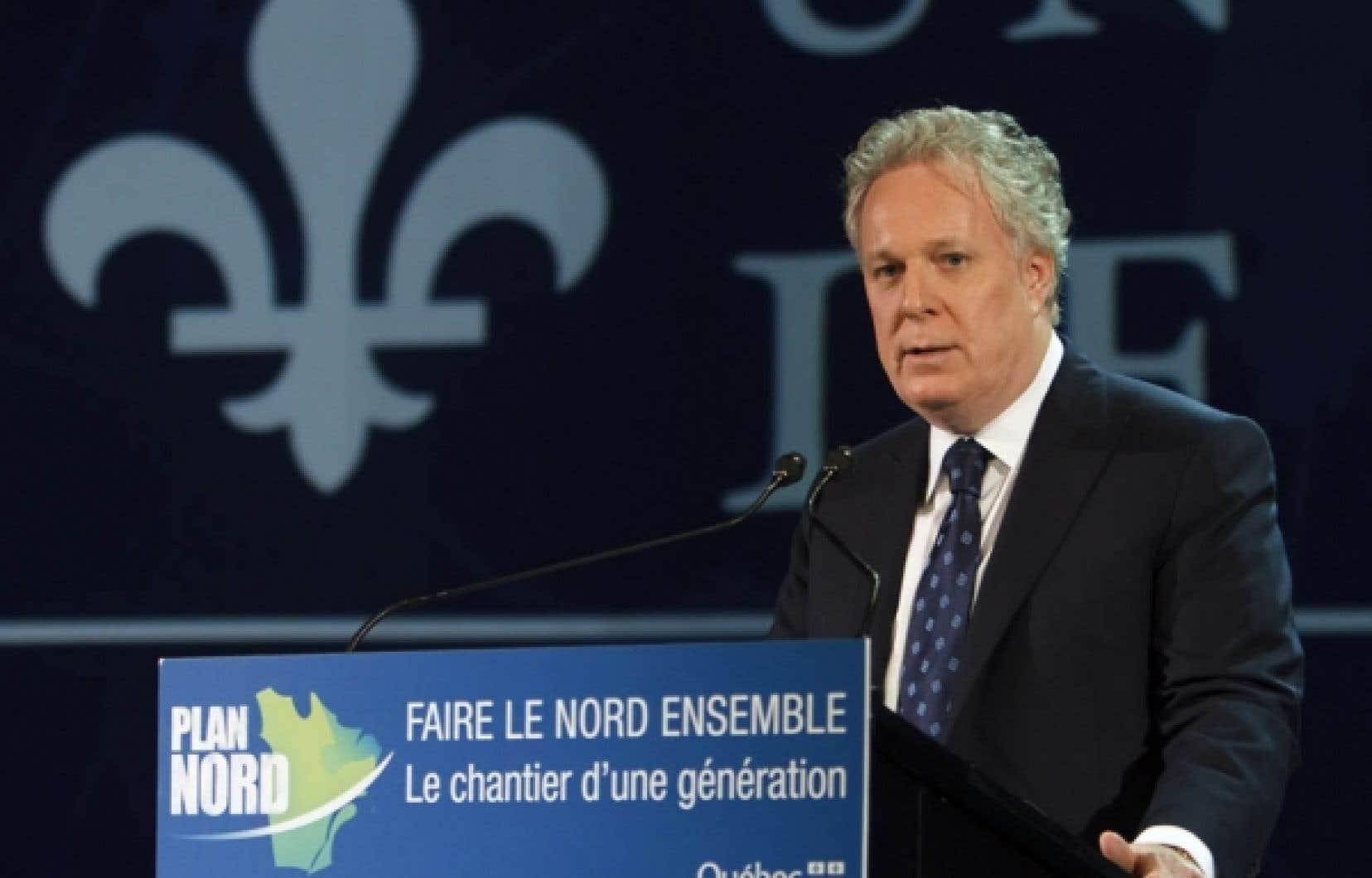 En dévoilant le Plan Nord, le lundi 9 mai, le premier ministre Jean Charest faisait notamment miroiter des investissements de 80 milliards de dollars sur 25 ans.<br />