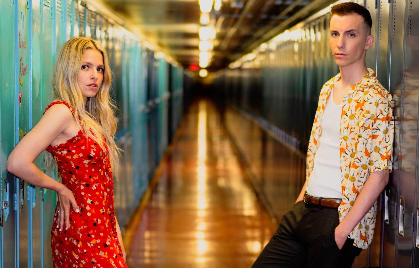 Sarah-Jeanne Labrosse et Pier-Luc Funk animent le Gala Mammouth 2021.