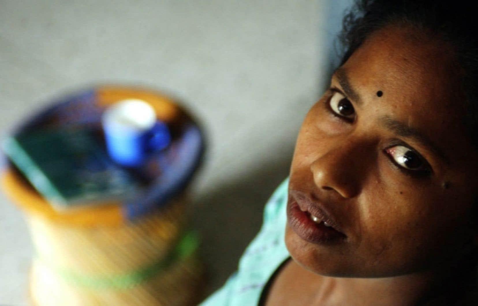 Baby Halder, une aide domestique en Inde qui a décidé d'écrire son histoire, celle de millions de femmes à travers le monde.<br />