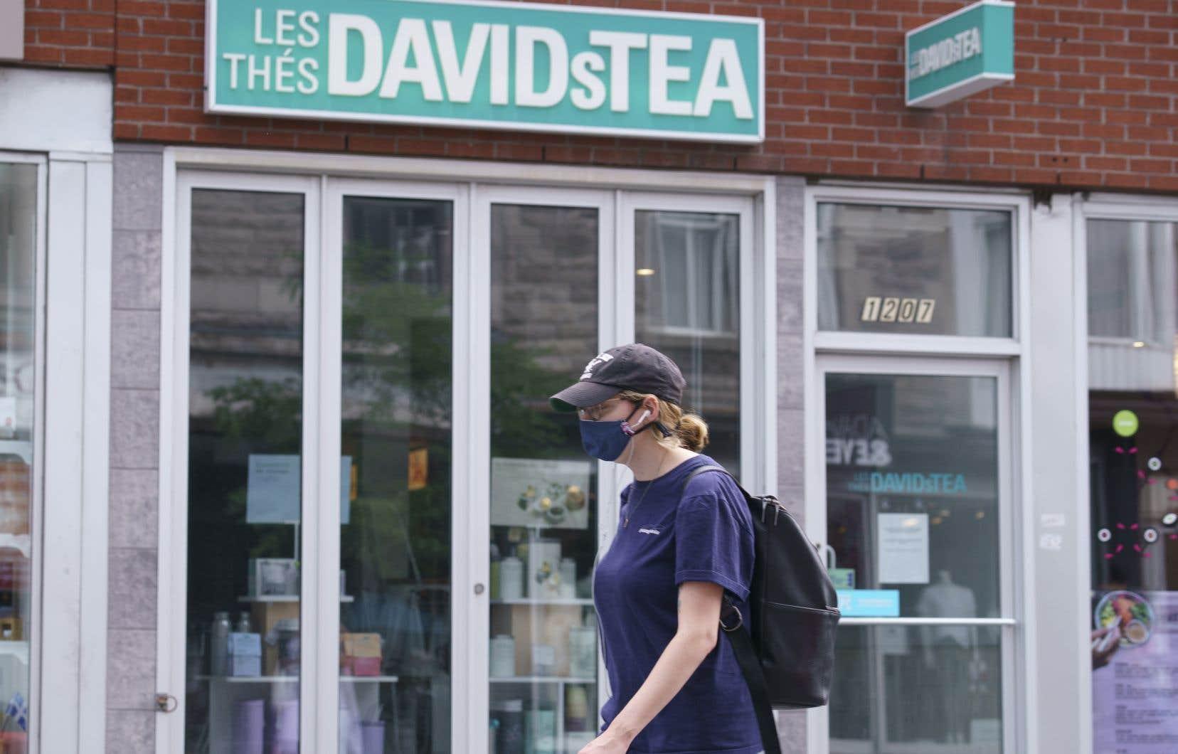 Les créanciers du marchand de thé en difficulté DavidsTea se partageront une somme totalisant environ 18millions au Canada et aux États-Unis.