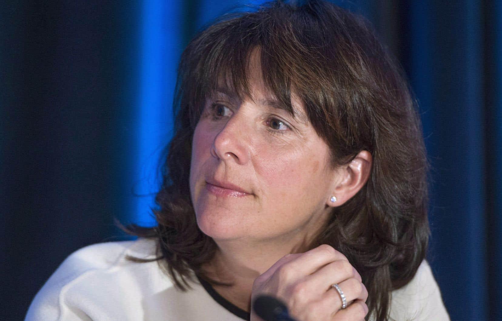 Sophie Brochu,p.-d.g. d'Hydro-Québec
