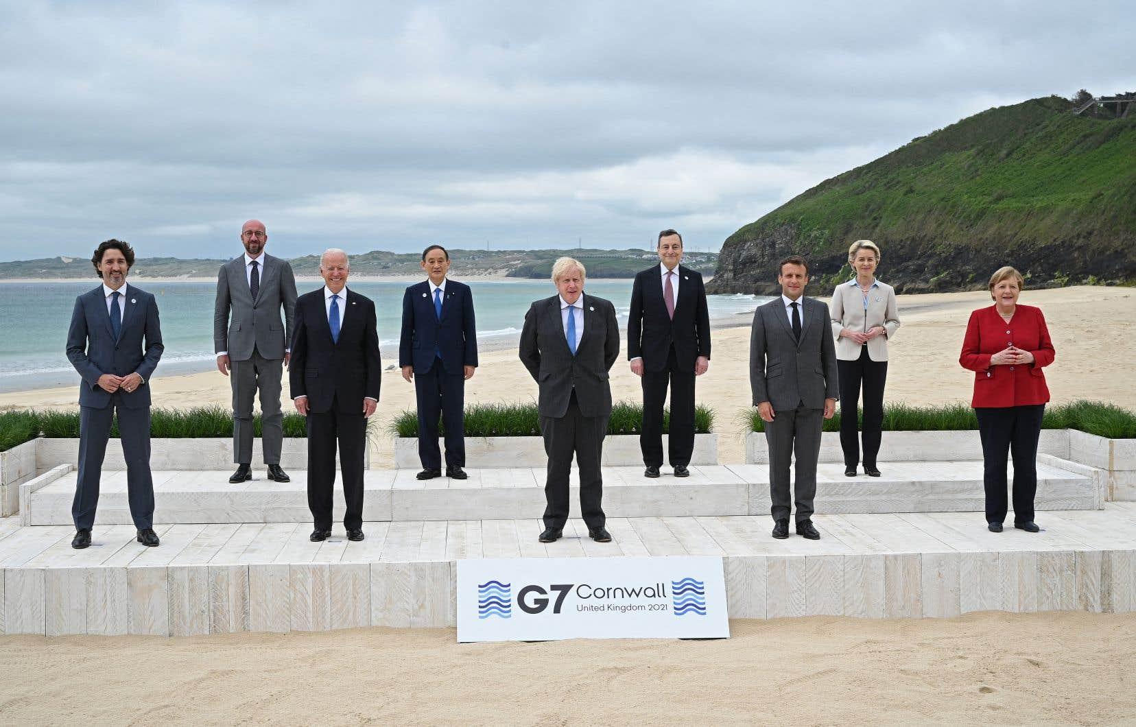 À l'issue du sommet du G7, les dirigeants se sont prononcés sur plusieurs sujets lors d'un communiqué final.