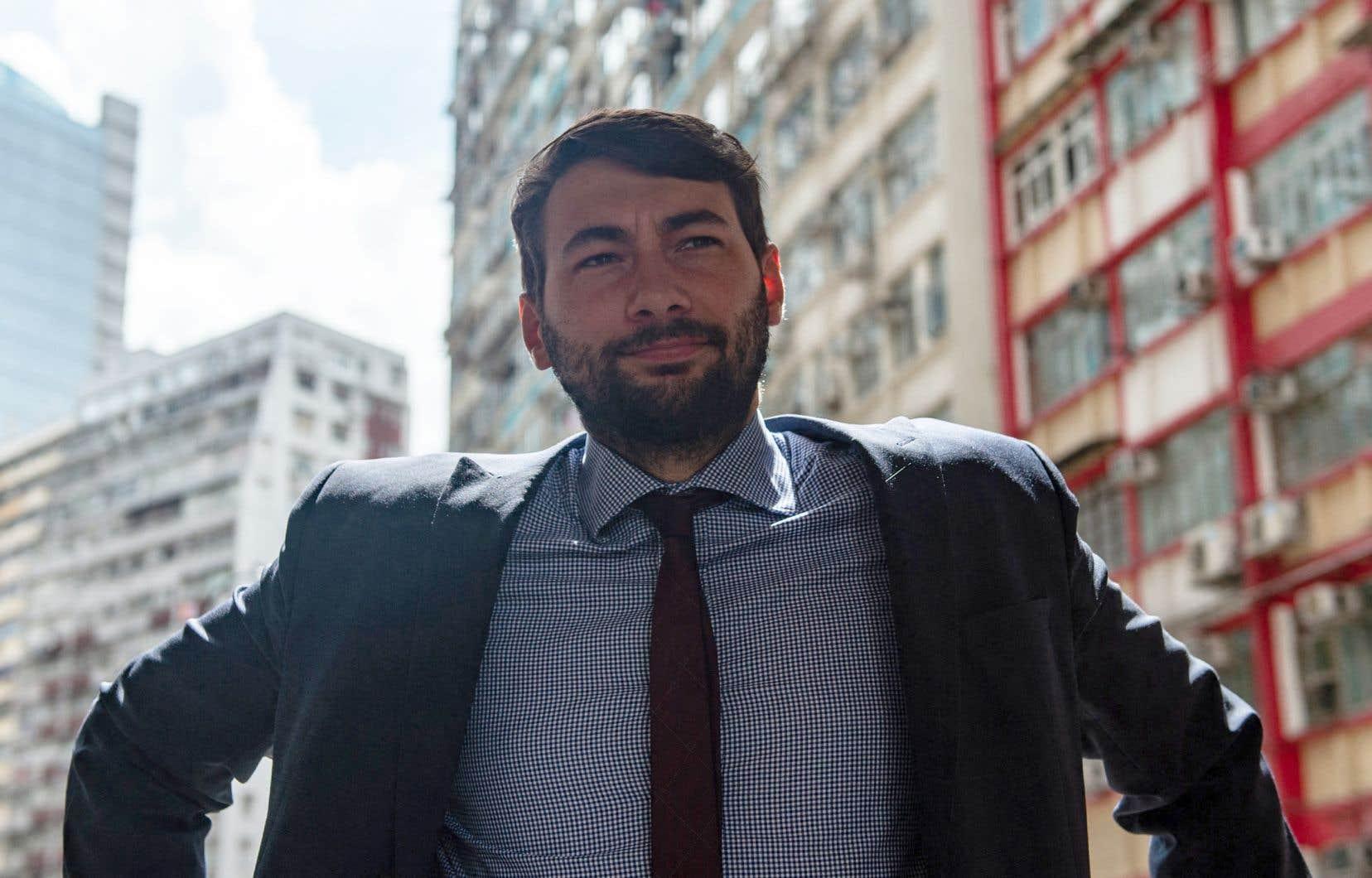 Guillaume Cliche-Rivard, président sortant de l'Association québécoise des avocats et avocates en droit de l'immigration (AQAADI)