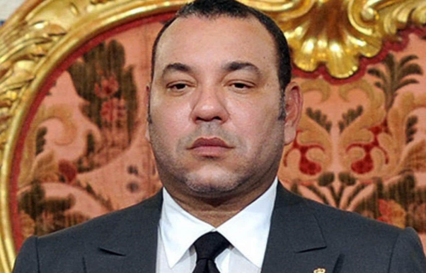 Le roi Mohammed VI, vendredi<br />