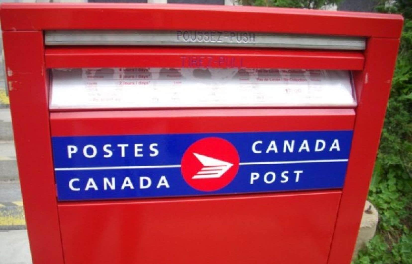 Les négociations chez Postes Canada avaient repris cet après-midi, mais la ministre du Travail, Lisa Raitt, a indiqué à 15h que les parties avaient eu amplement le temps de s'entendre.