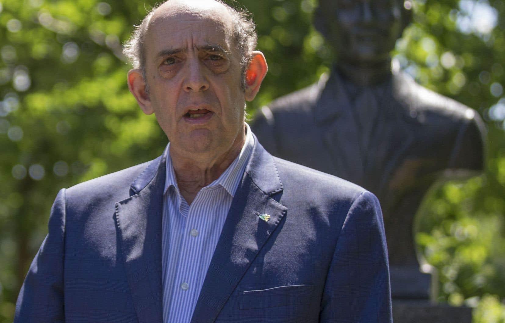 Marvin Rotrand siège à l'hôtel de ville de façon continue depuis 1982.