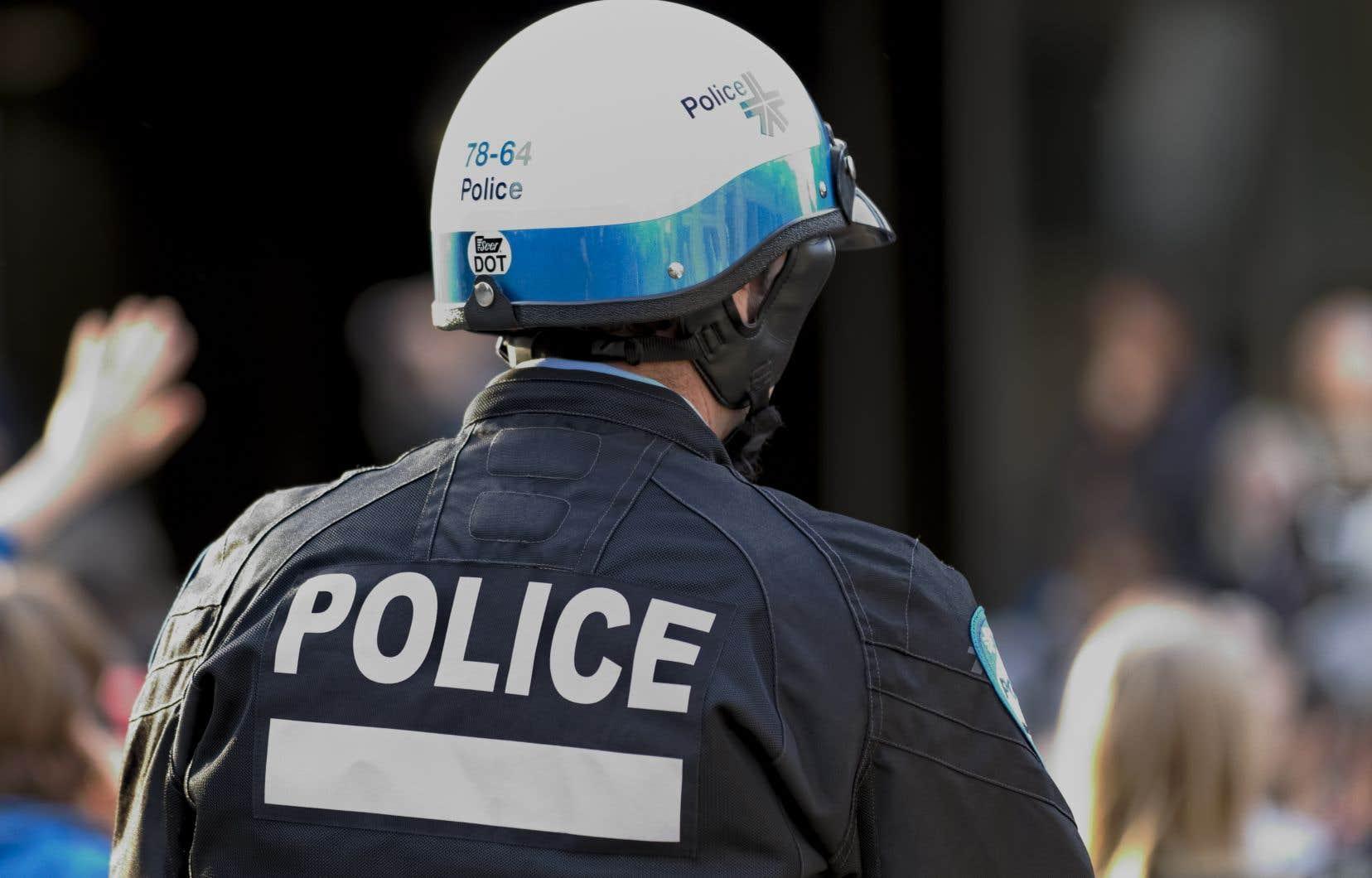 Le nombre d'infractions au Code criminel répertoriées par le corps de police a diminué de 11,2% l'an dernier, notamment en raison d'une baisse marquée du nombre de vols qualifiés et d'introductions par effraction.