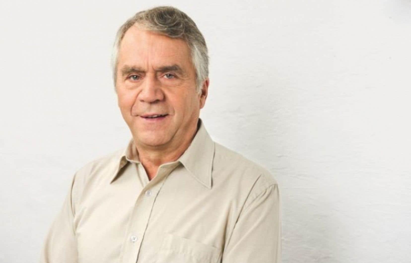 Le doyen du caucus du Parti québécois, François Gendron.