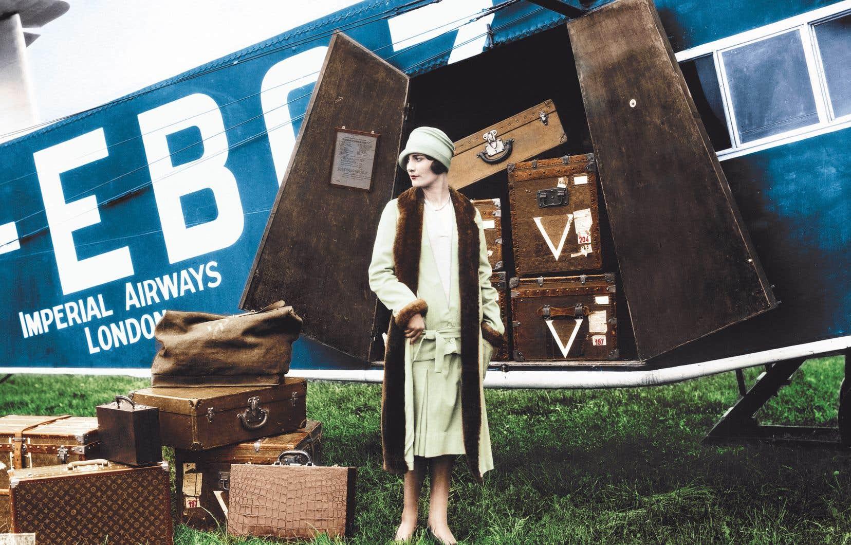Le Voyage en avion, Thérèse Bonney, vers 1927