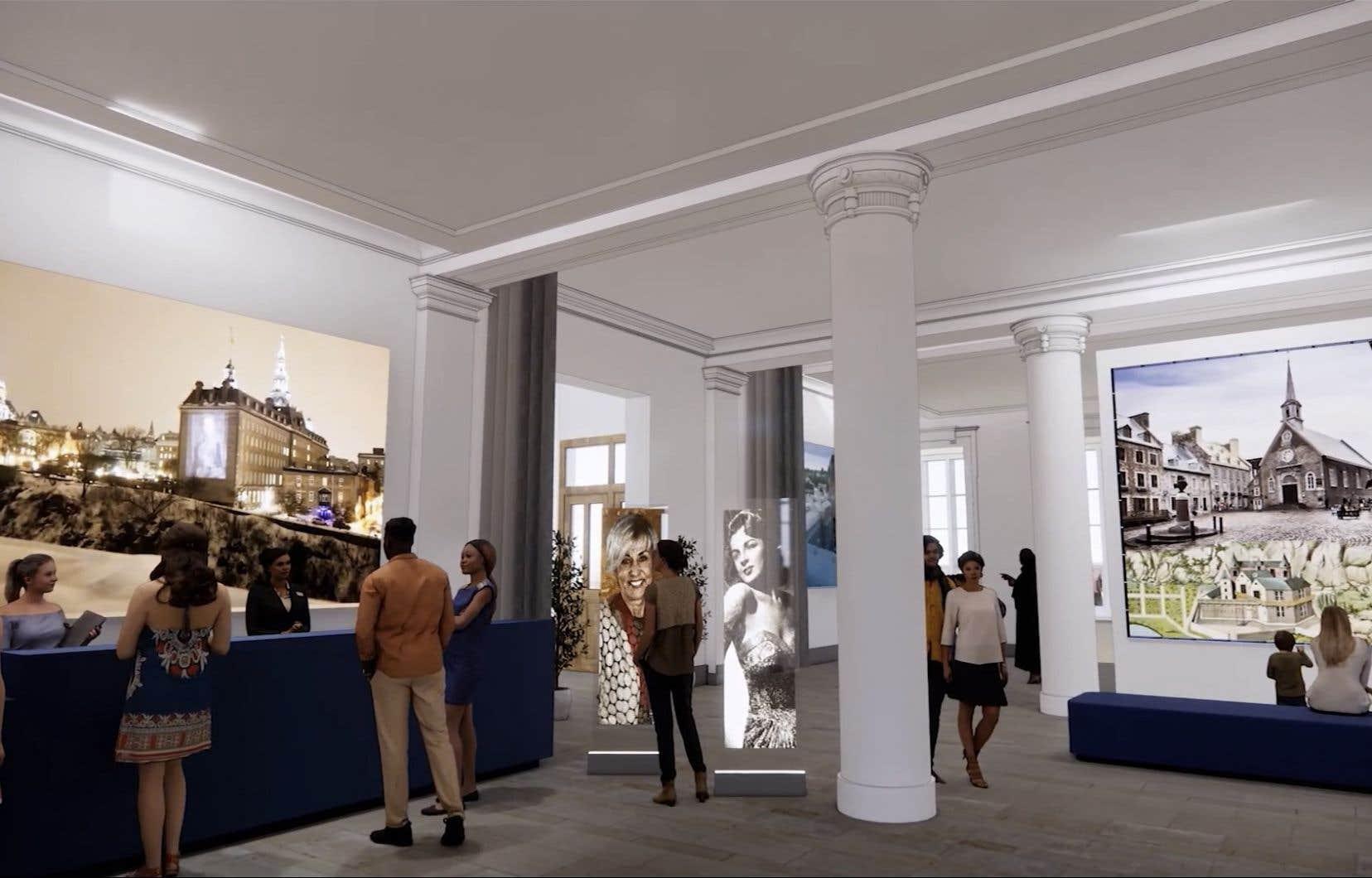 Le principal objectif du projet d'Espaces bleus, dit Stéphan La Roche, est la revalorisation de bâtiments patrimoniaux, une tâche à laquelle les musées existants ne peuvent pas toujours répondre.