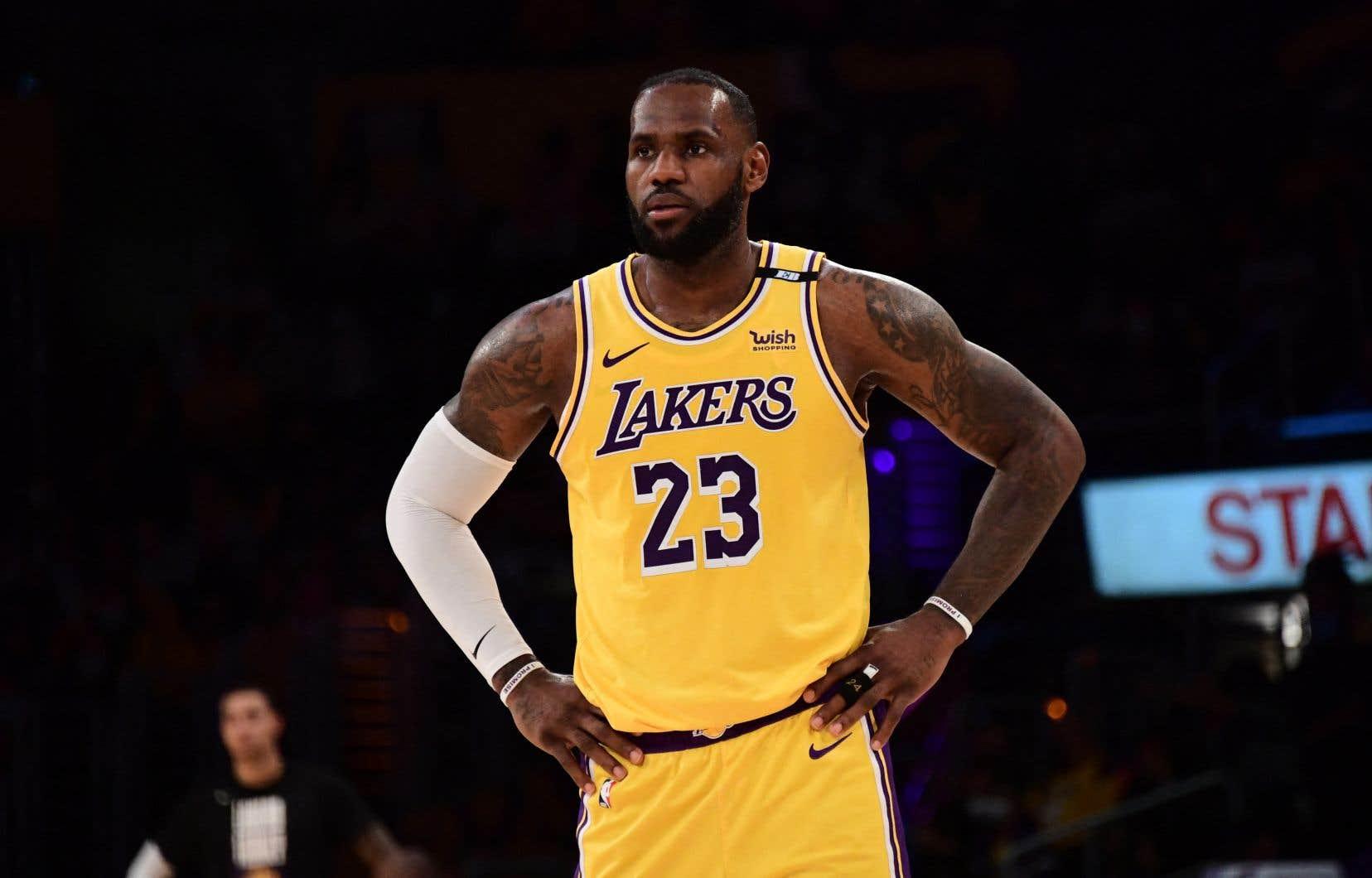 Selon Lebron James, les blessures sont dues à «un manque de repos» avant la reprise de la NBA en décembre.