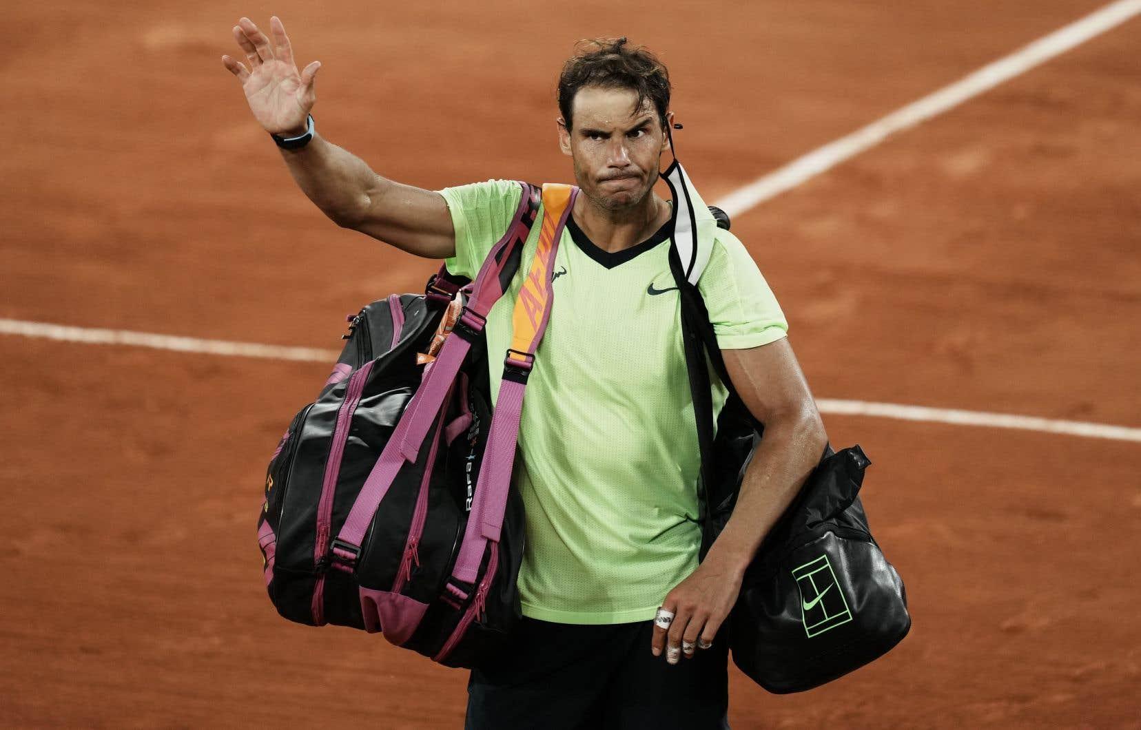 Nadal a remporté 20 titres en Grand Chelem, dont 13, un record, à Roland-Garros.