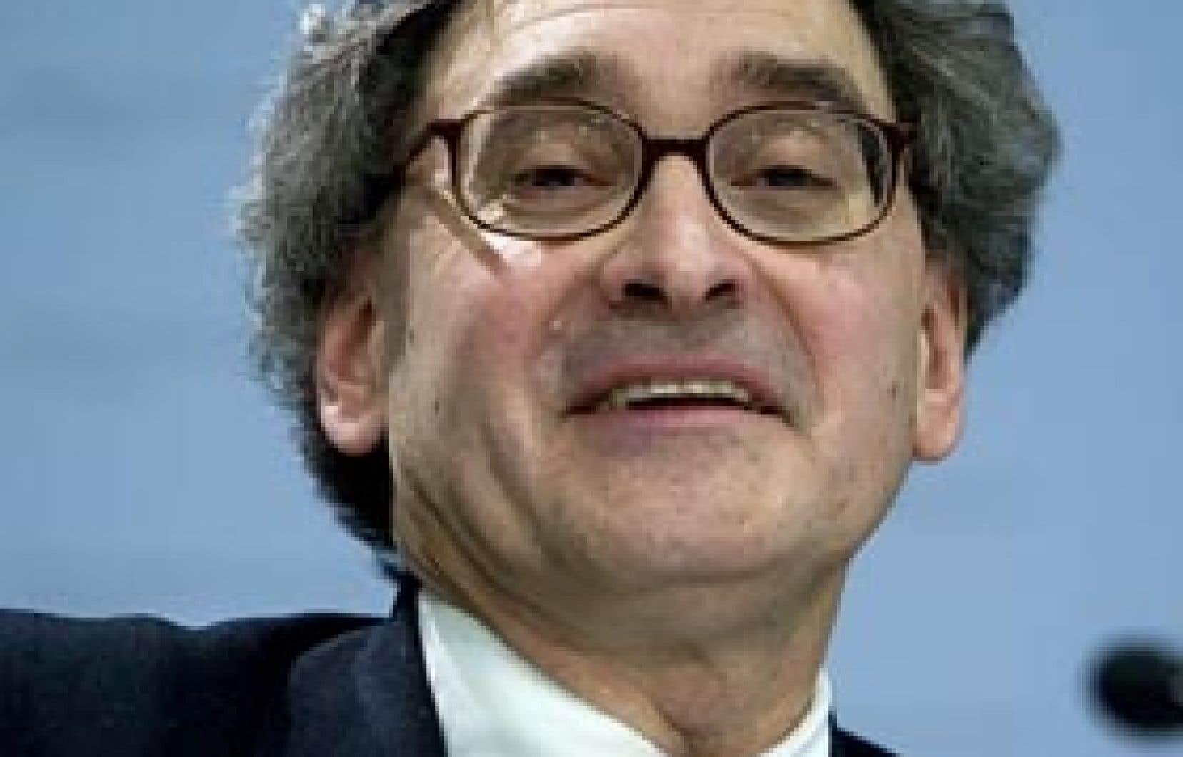 Michael Sabia, président et chef de la direction de la Caisse de dépôt et placement