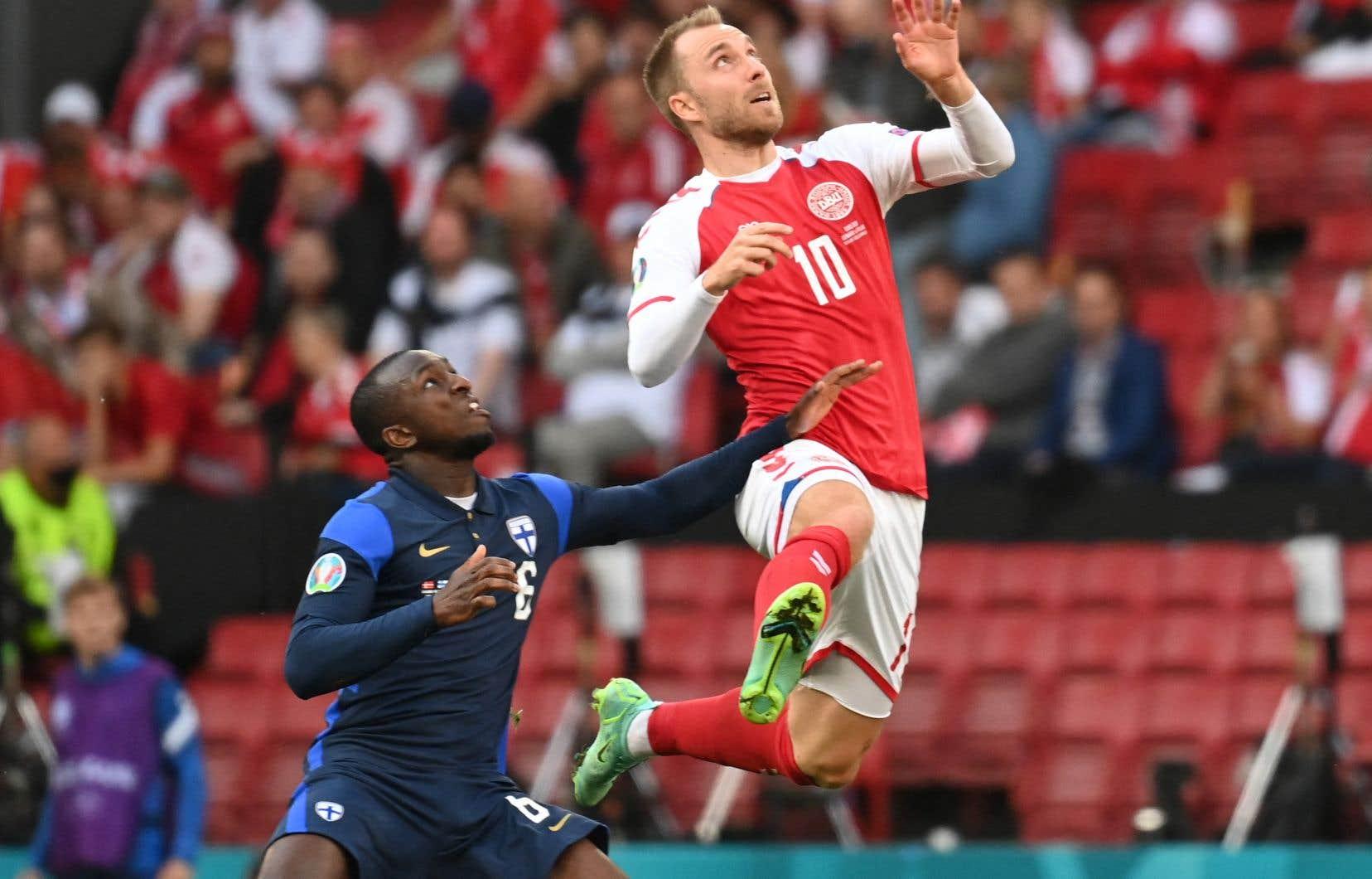 Le joueur de 29ans se remet à Copenhague après avoir subi un arrêt cardiaque dans le match de la sélection danoise contre la Finlande à l'euro 2020.