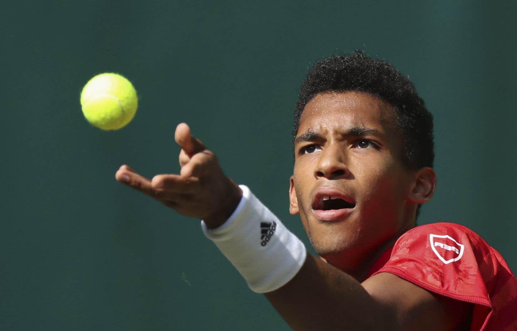 Auger-Aliassime espérait participer à une neuvième finale en carrière, lui qui est toujours à la recherche d'un premier titre en simple sur le circuit de l'ATP.