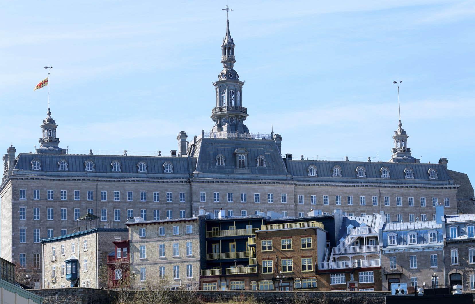 Le pavillon Camille-Roy du Séminaire de Québec sera à la tête du réseau de lieux patrimoniaux et culturels de L'Espace bleu de la Capitale-Nationale.