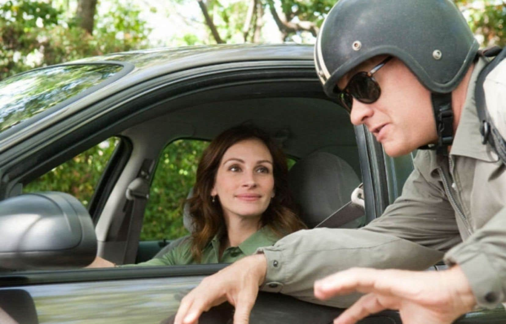 Julia Roberts et Tom Hanks dans Larry Crowne<br />