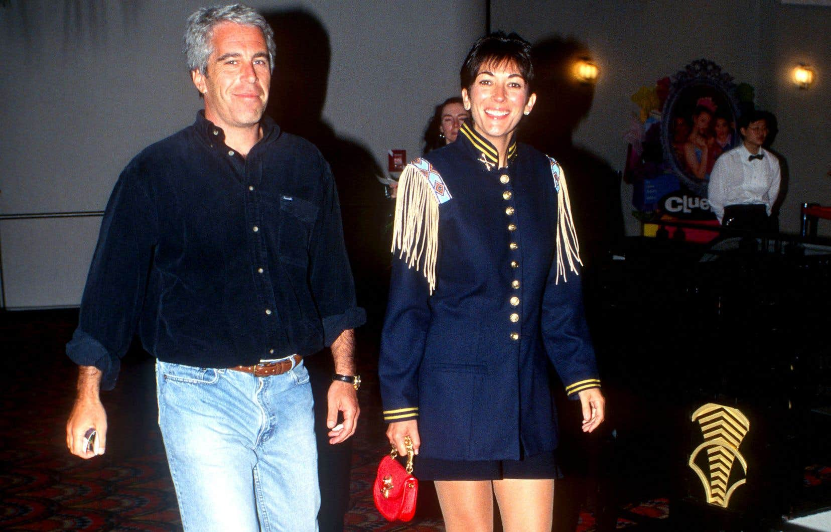 Jeffrey Epstein et Ghislaine Maxwell, le 13juin 1995 à New York