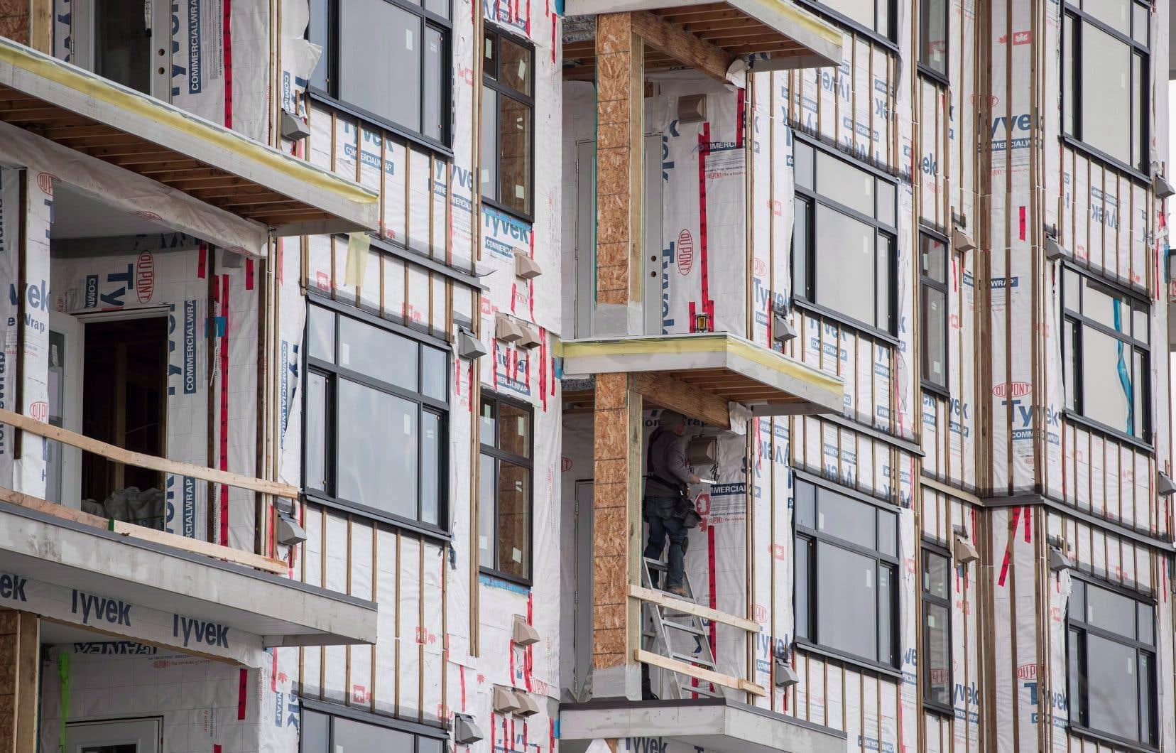 Le nombre de postes vacants dans le secteur de la construction a augmenté de 33,1%, à 46400, le nombre le plus élevé depuis 2015.