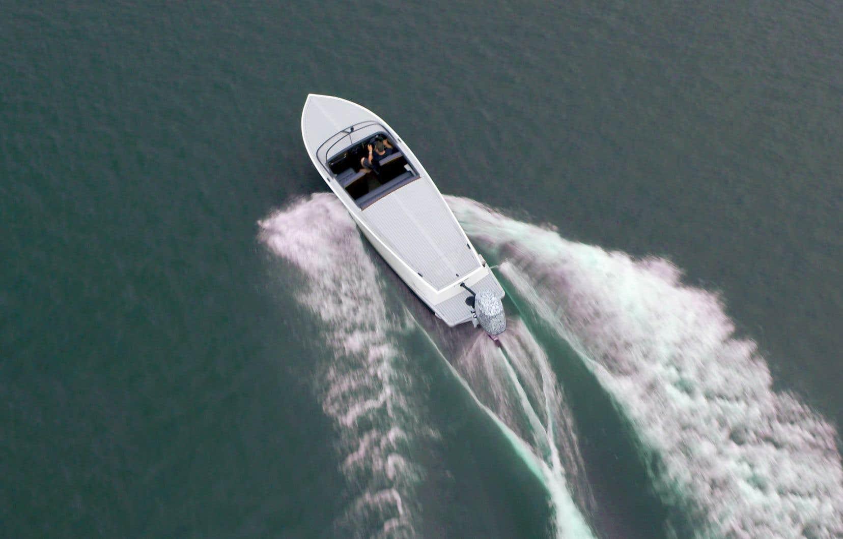 L'entreprise québécoise Vision marine technologies prévoit de participer à de nombreuses expositions au sud de la frontière dans les prochains mois pour présenter son nouveau moteur électrique.