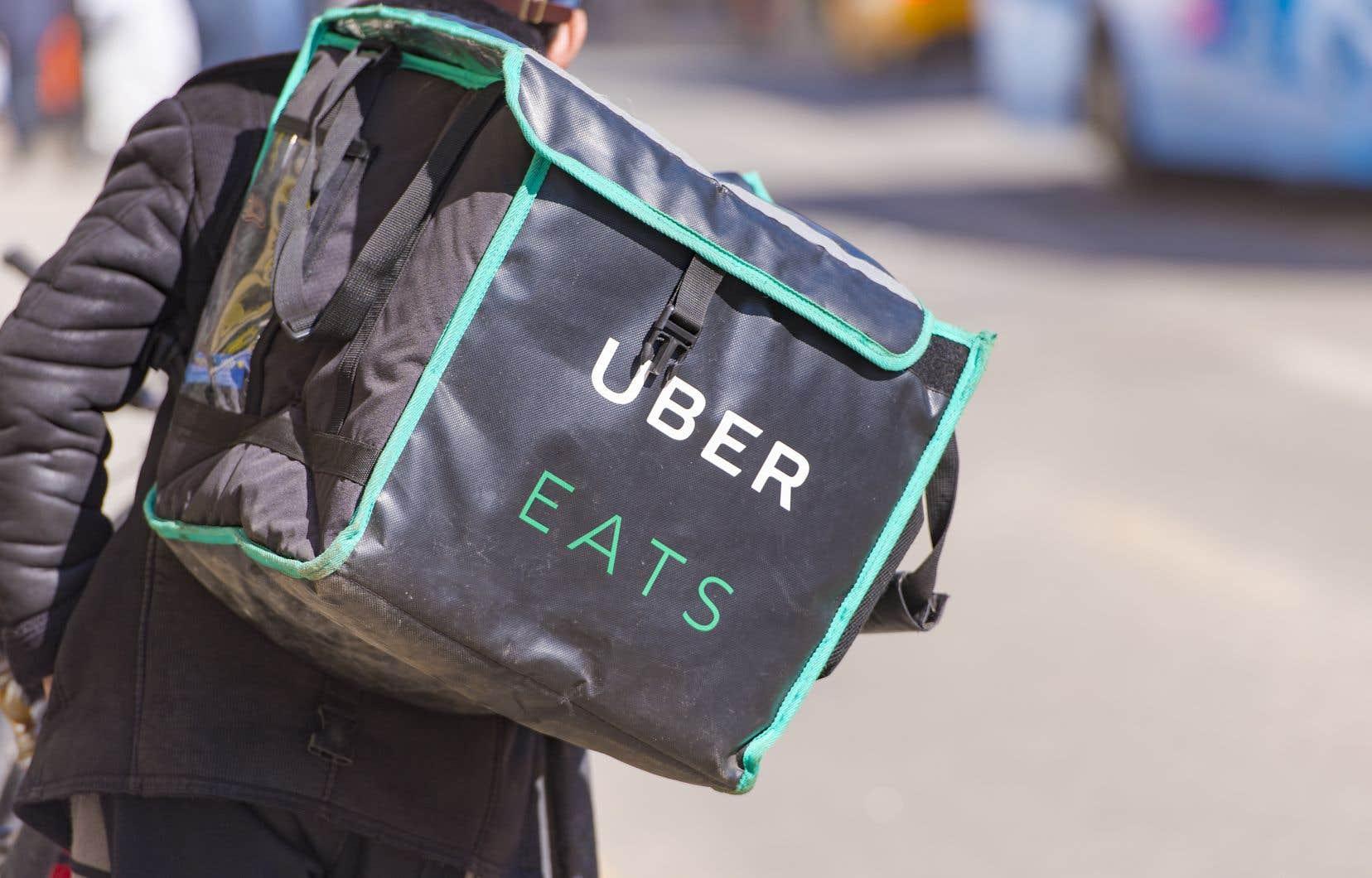 Les abonnés du programme de passe Uber Eats pourraient devoir payer une taxe de vente.