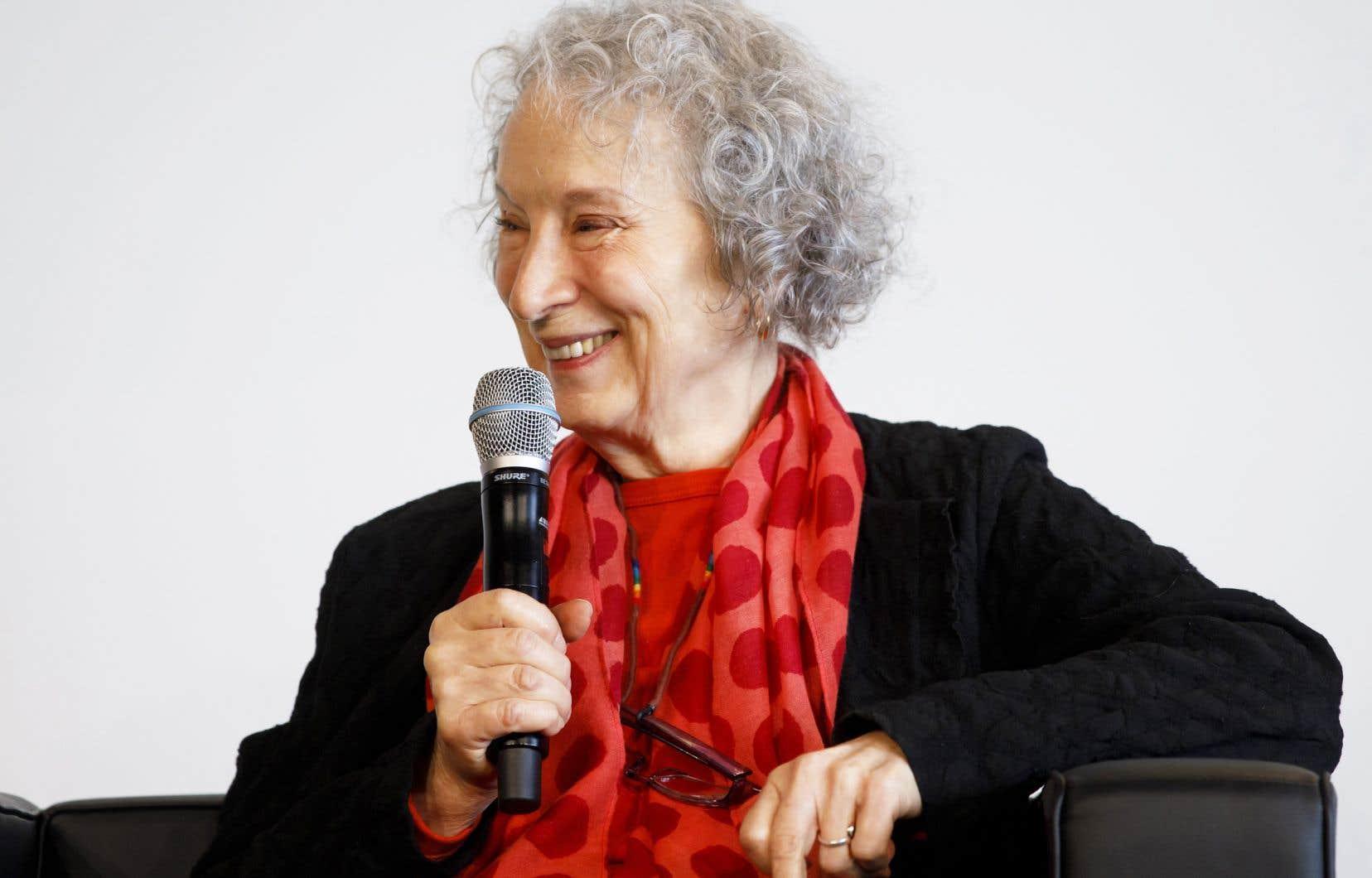 La romancière canadienne, Margaret Atwood