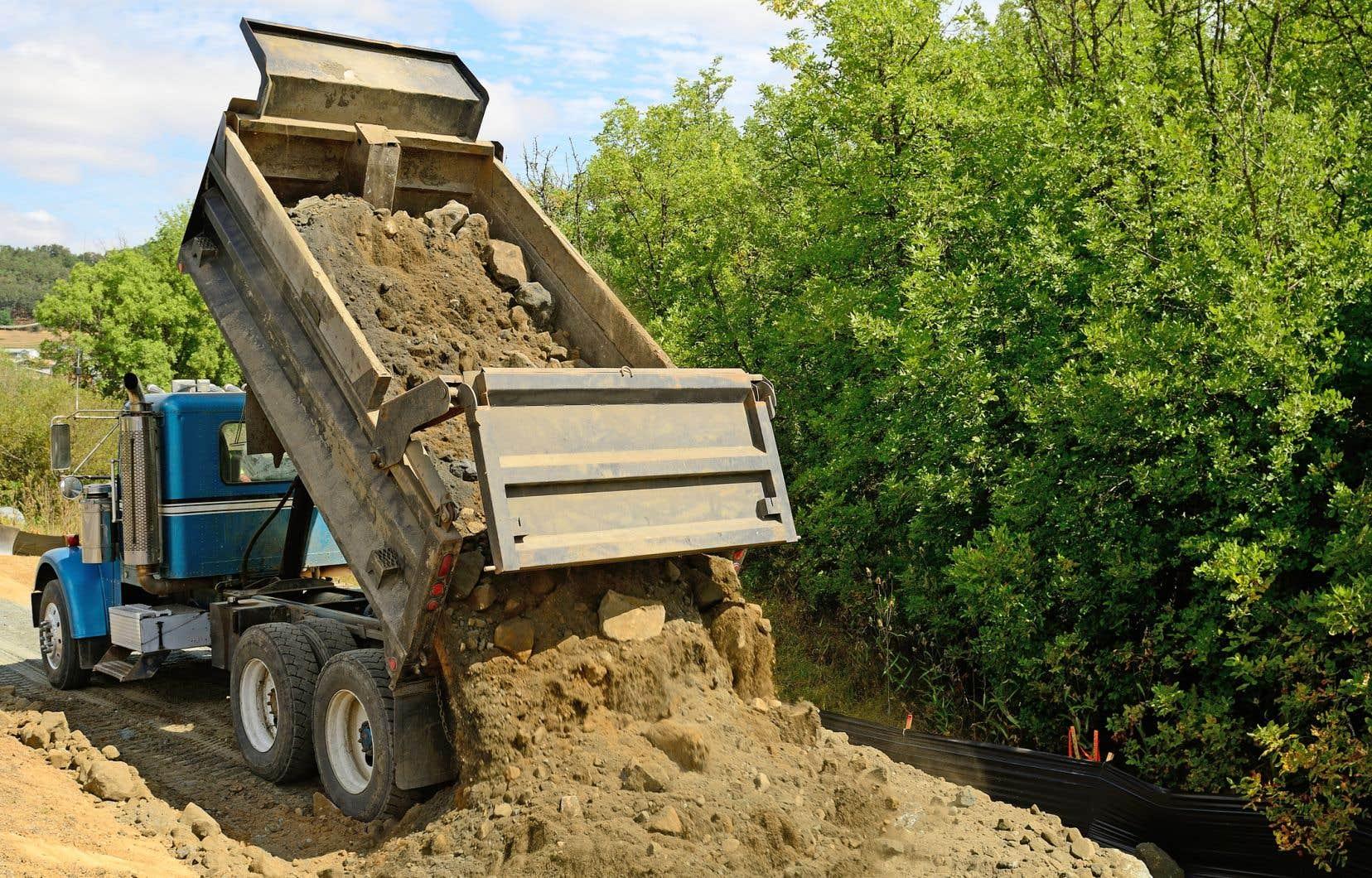 Le système sera aussi appliqué aux sols contaminés qui doivent être acheminés à l'extérieur de la province.