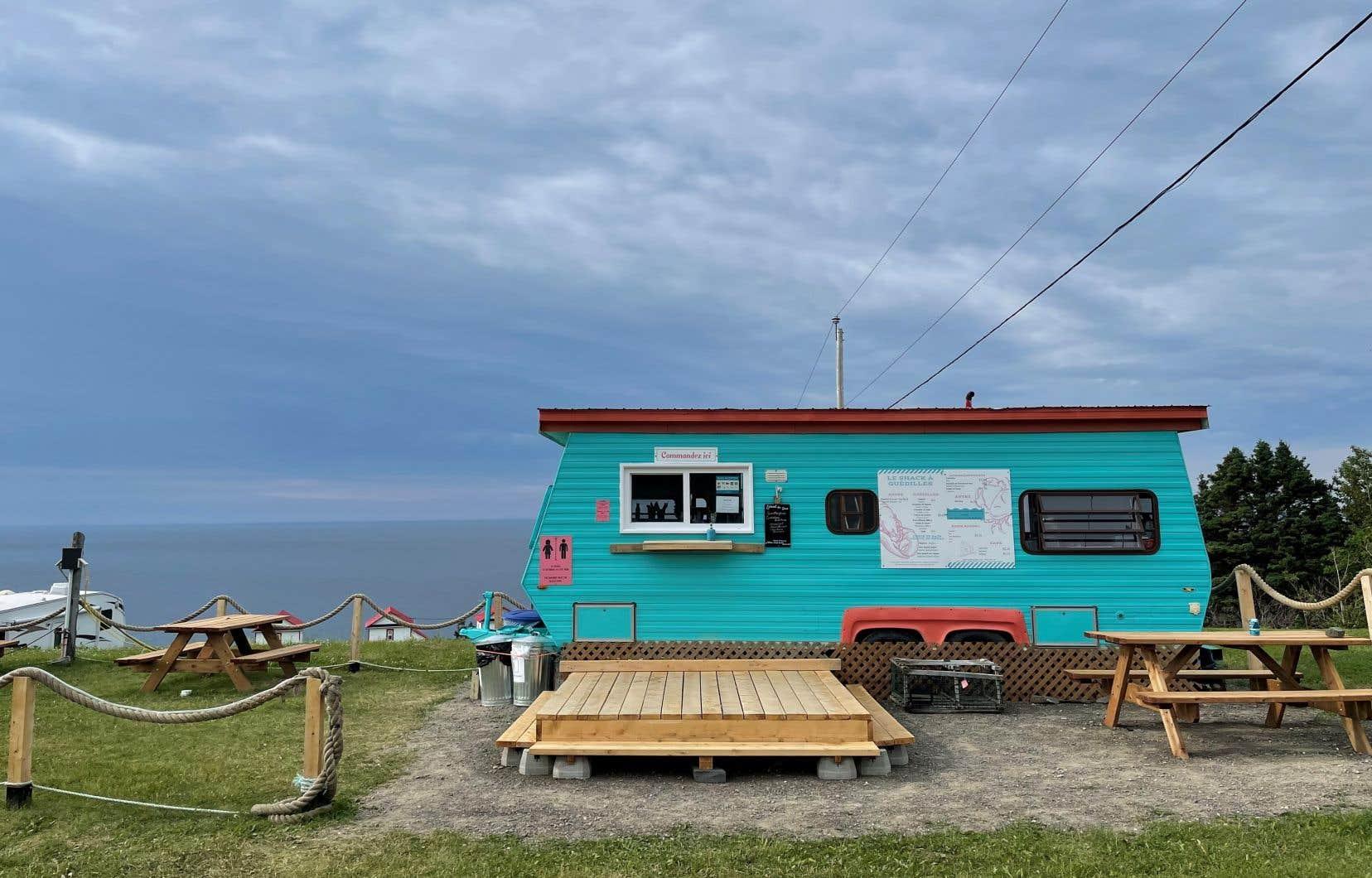 Le Shack à guédilles, situé à Rivière-de-la-Madeleine