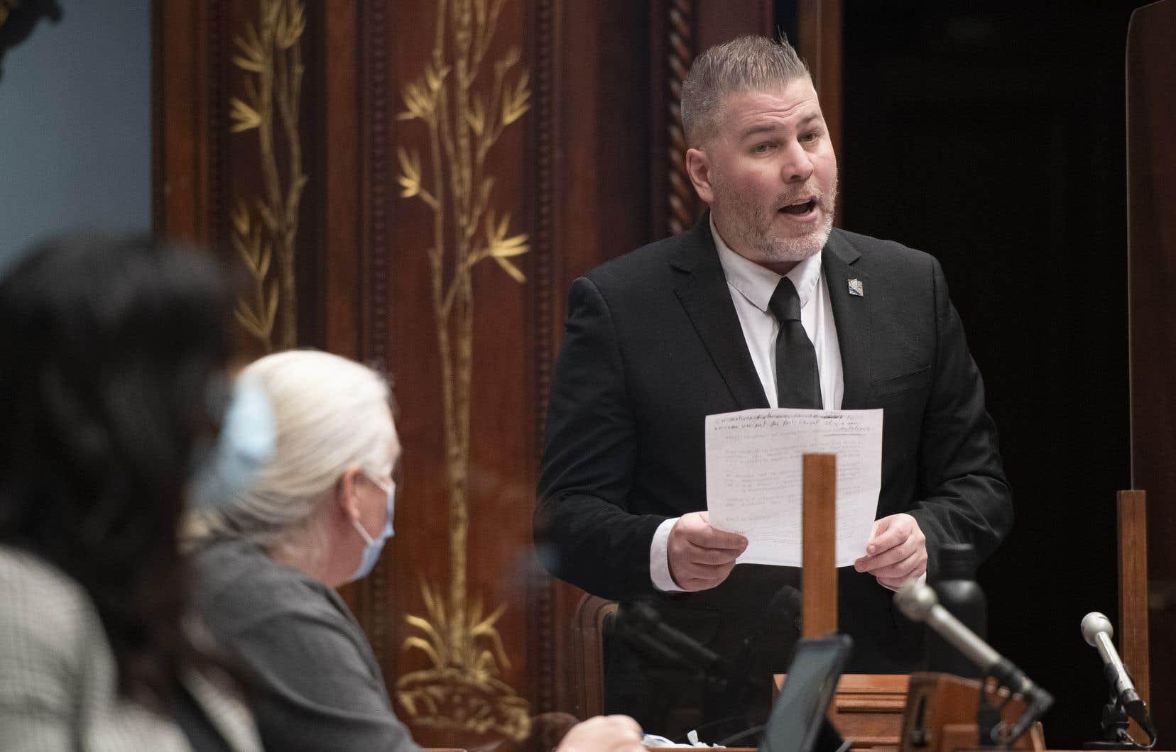 Pascal Bérubé a dressé un bilan positif de son expérience en tant que chef parlementaire.