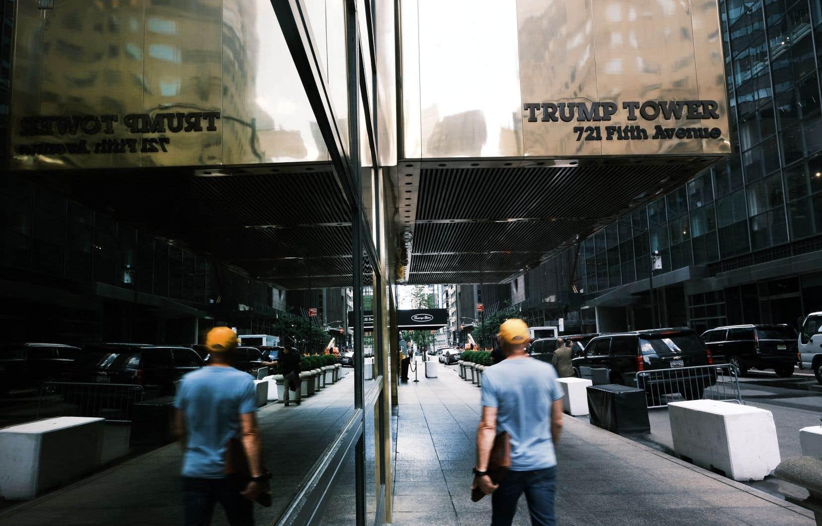 La Trump Organization et son directeur financier inculpés jeudi | Le Devoir