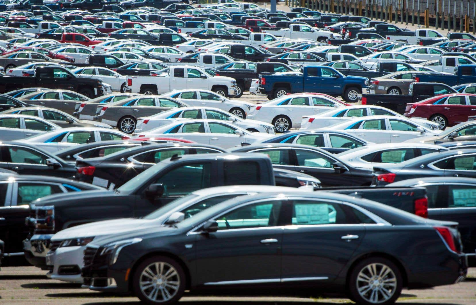 Le stock de voitures neuves est en baisse d'environ 20% au Canada, mais cette pénurie devrait s'aggraver à mesure que le pays se remettra en marche.