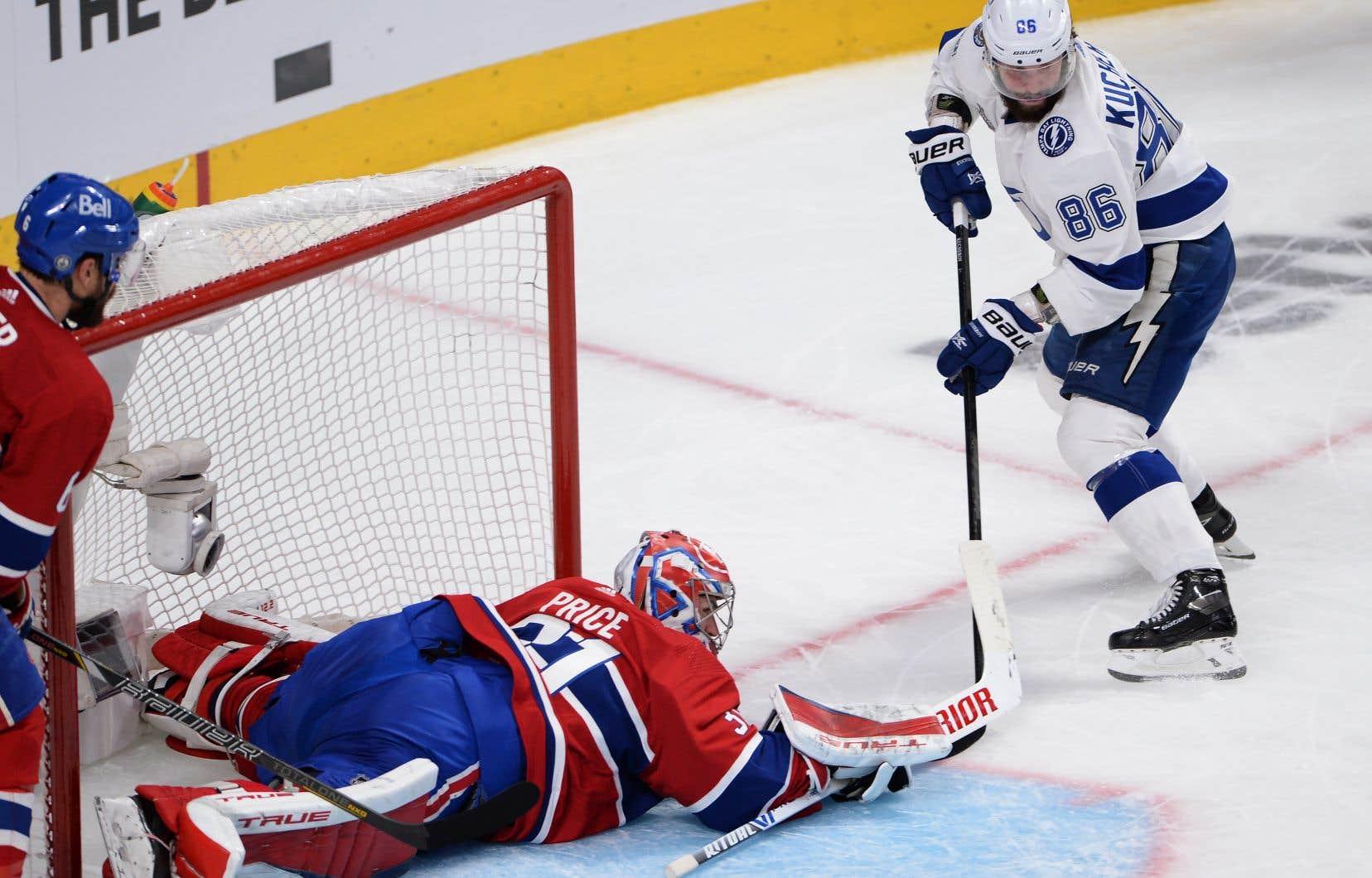 Le Lightning de Tampa Bay a remporté 6-3 le 3e match de la finale de la Coupe Stanley contre le Canadien vendredi soir.
