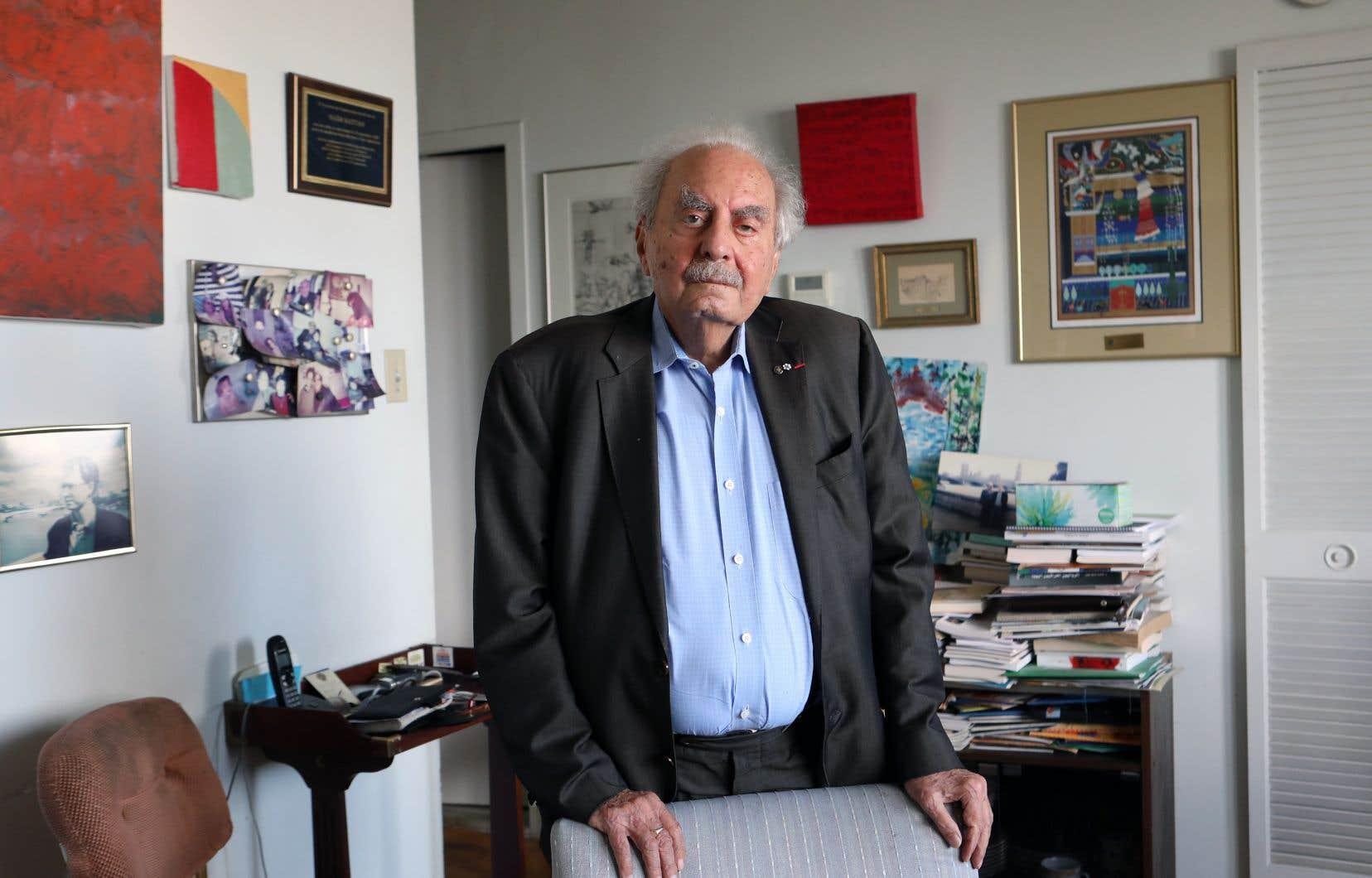 Tout le monde connaissait Naïm Kattan dans le milieu littéraire canadien et il connaissait lui-même tout le monde, d'ailleurs bien au-delà de ces cercles de lettrés.