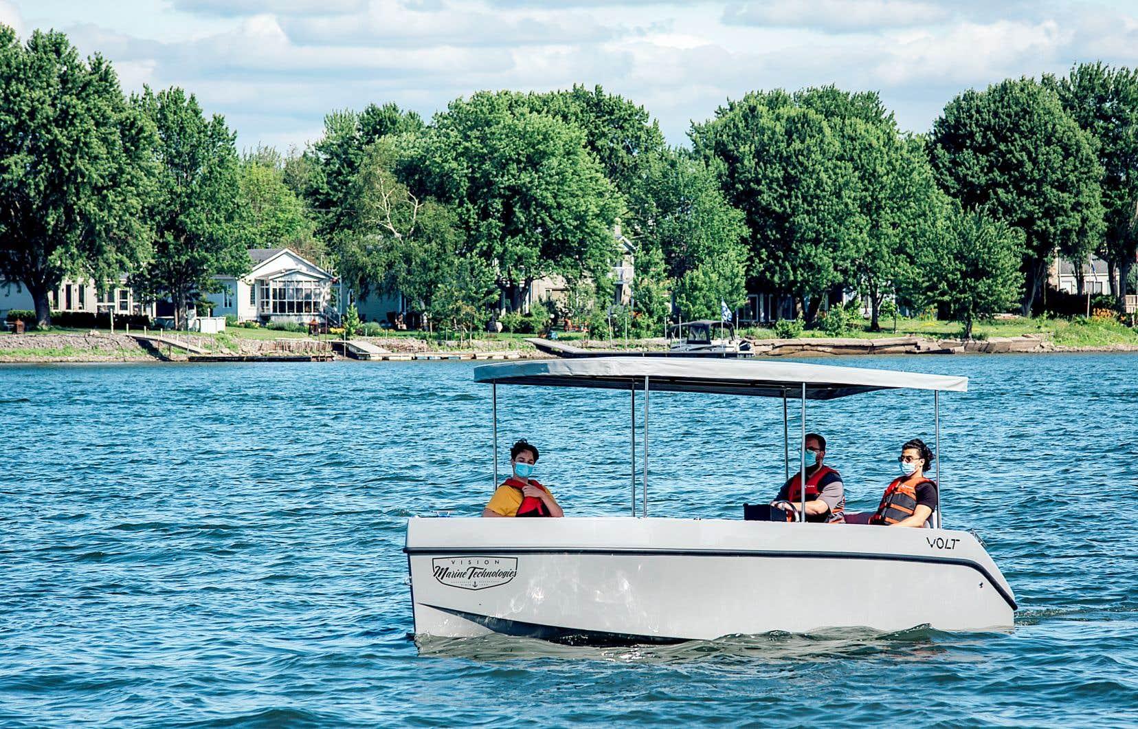 Certains projets issus des budgets participatifs menés dans Ahuntsic-Cartierville en 2019 et 2020 n'auraient probablement pas pu voir le jour sans cet exercice, dont celui qui sera réalisé très prochainement de bateaux électriques sur la rivière des Prairies, déclinaison du projet déjà en place sur la rivière Richelieu, à Saint-Jean-sur-Richelieu (notre photo).
