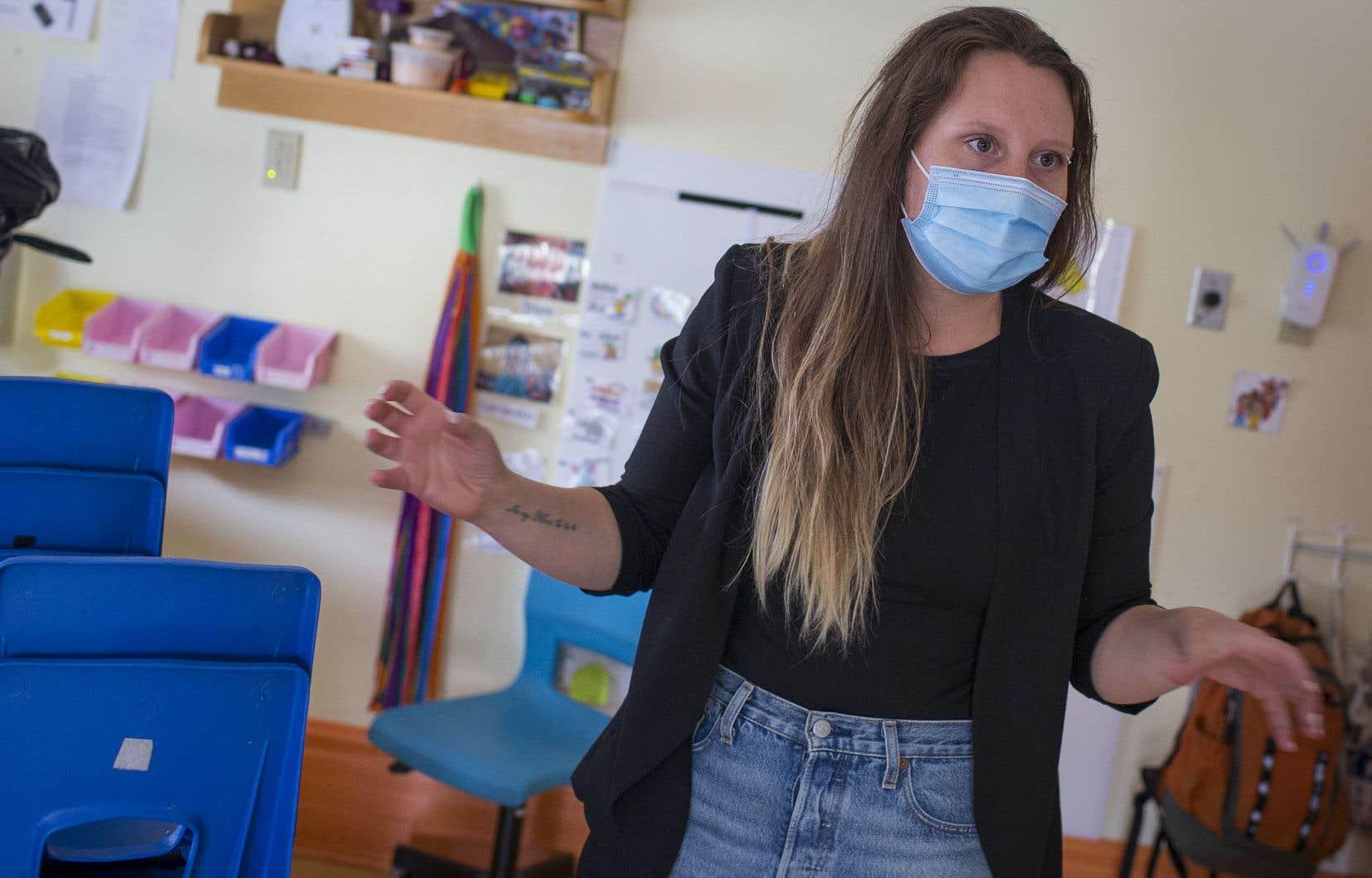 Julia Michel fait des pieds et des mains pour garder sa cuisinière et toutes ses éducatrices. Elle craint quand même de perdre des membres du personnel, qui sont à bout de souffle.