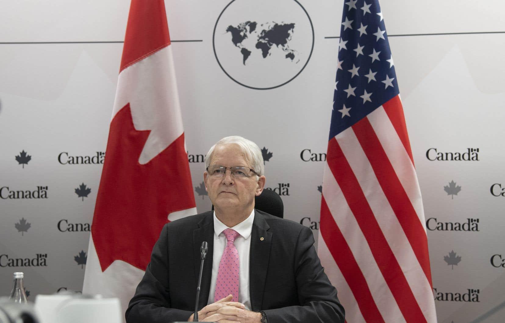 «À ce moment, notre priorité numéro un, notre conseil numéro un est qu'il faut faire baisser la température», a dit le ministre des Affaires étrangères, Marc Garneau.