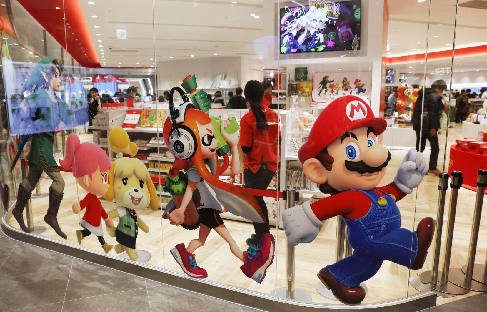 La Switch a été la console américaine la plus vendue en 2020.