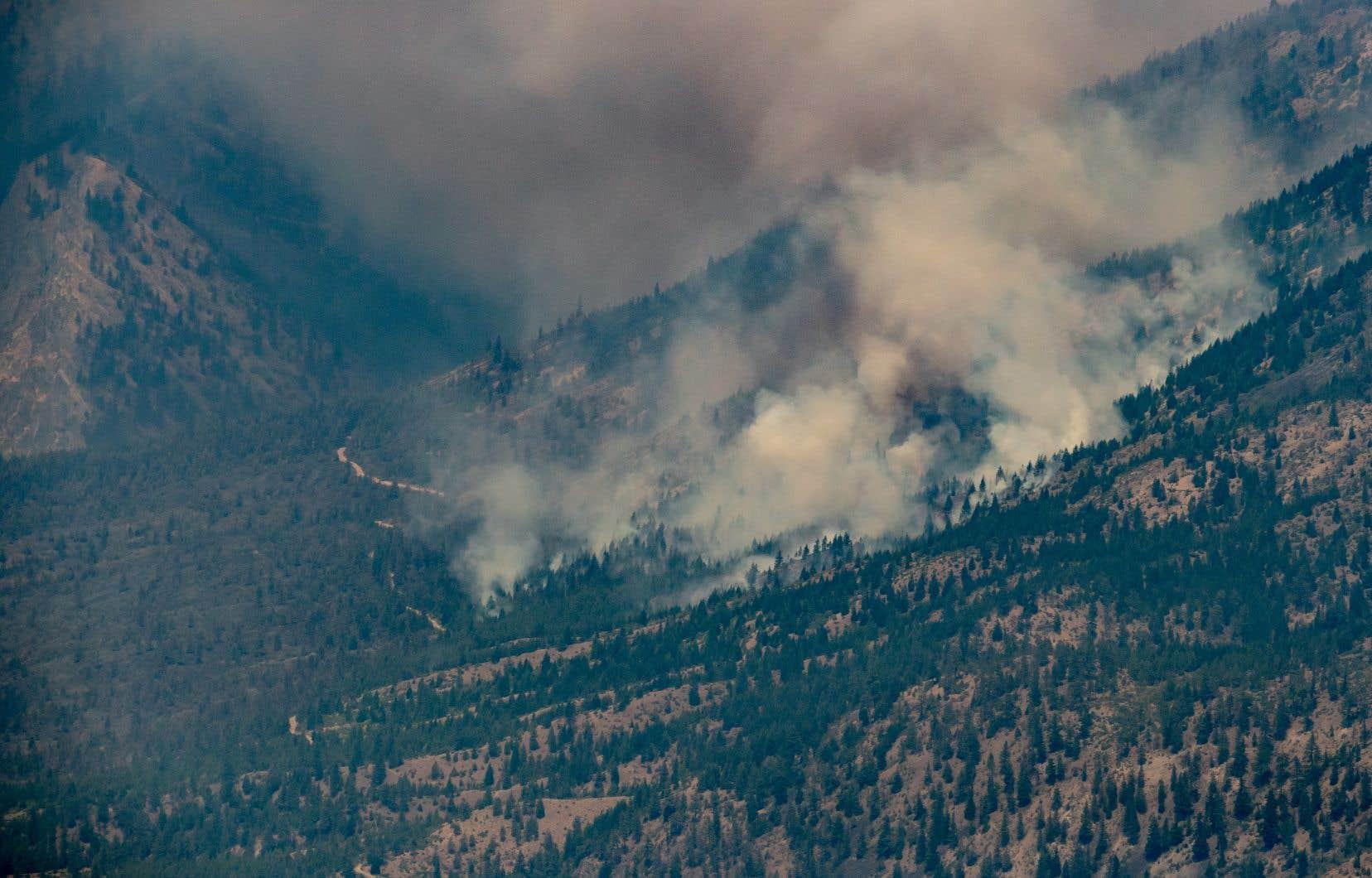 La petite communauté de Lytton, à 250km au nord-est de Vancouver, est devenue le symbole de cette crise: après avoir battu le record historique, elle a été la proie des flammes qui ont ravagé 90% de son territoire.