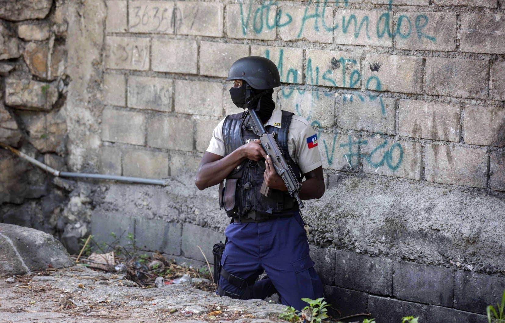 La traque des suspects se poursuivait vendredi à Pétion-Ville, deux jours après l'assassinat du président haïtien, Jovenel Moïse.