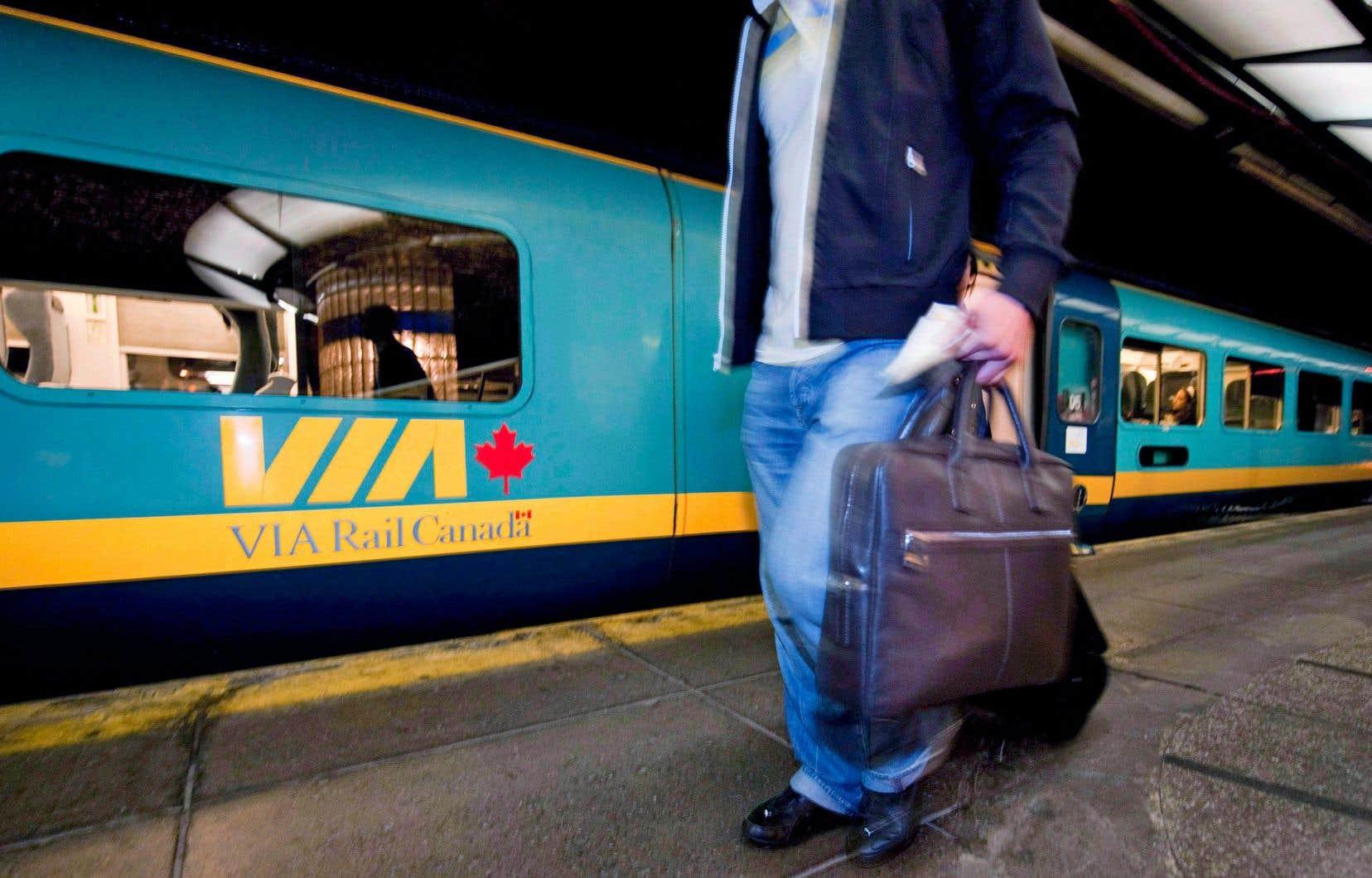 «Avec un TGF qui réduirait substantiellement la durée des trajets, on créerait le début d'une culture favorisant le retour au rail», fait valoir l'auteur.