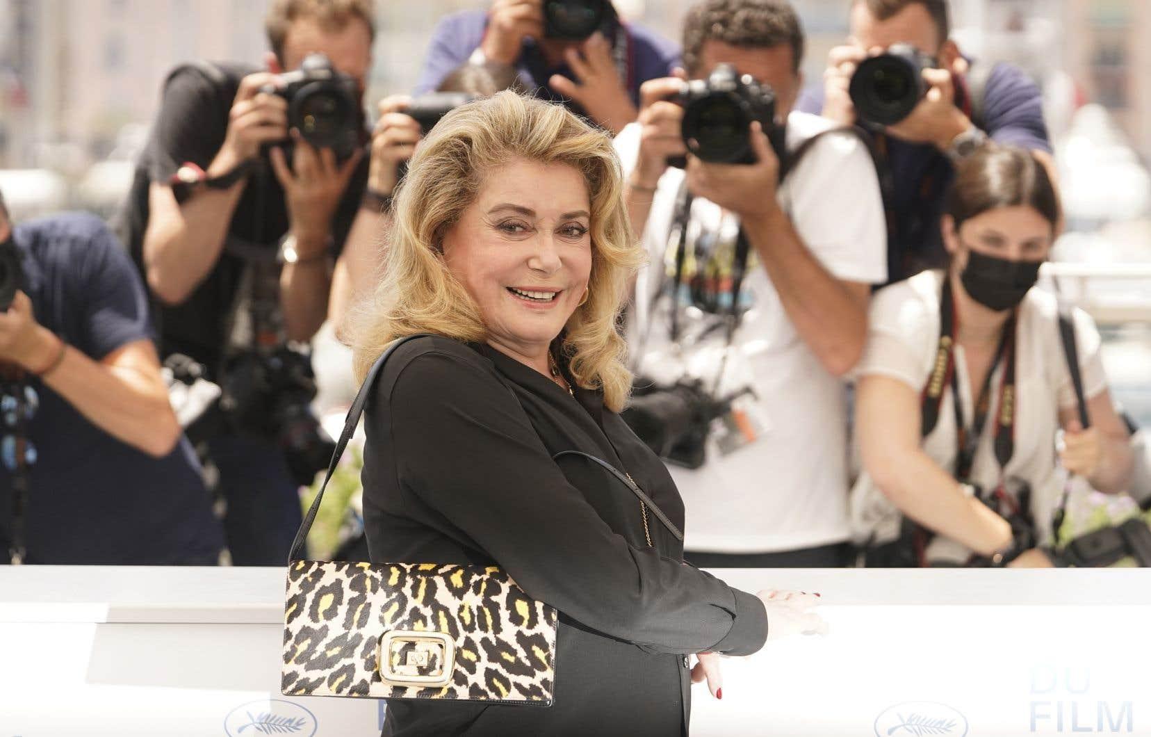 La présence à Cannes de Catherine Deneuve est un petit miracle.