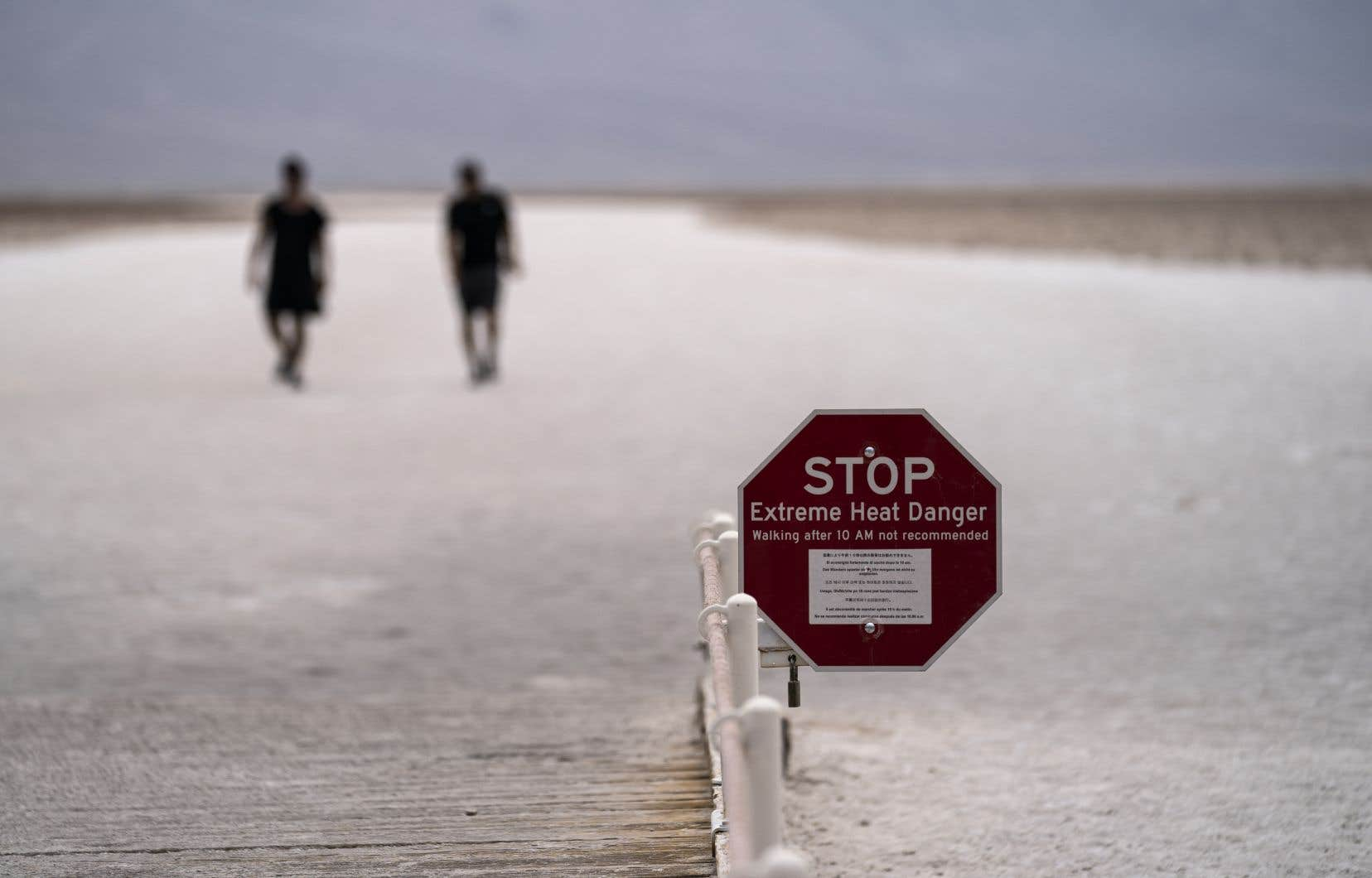 Les températures attendues en début de semaine dans le sud de la Californie devraient approcher les 40°C après des pointes jusqu'à 52-54°C durant le week-end dans la Vallée de la Mort.