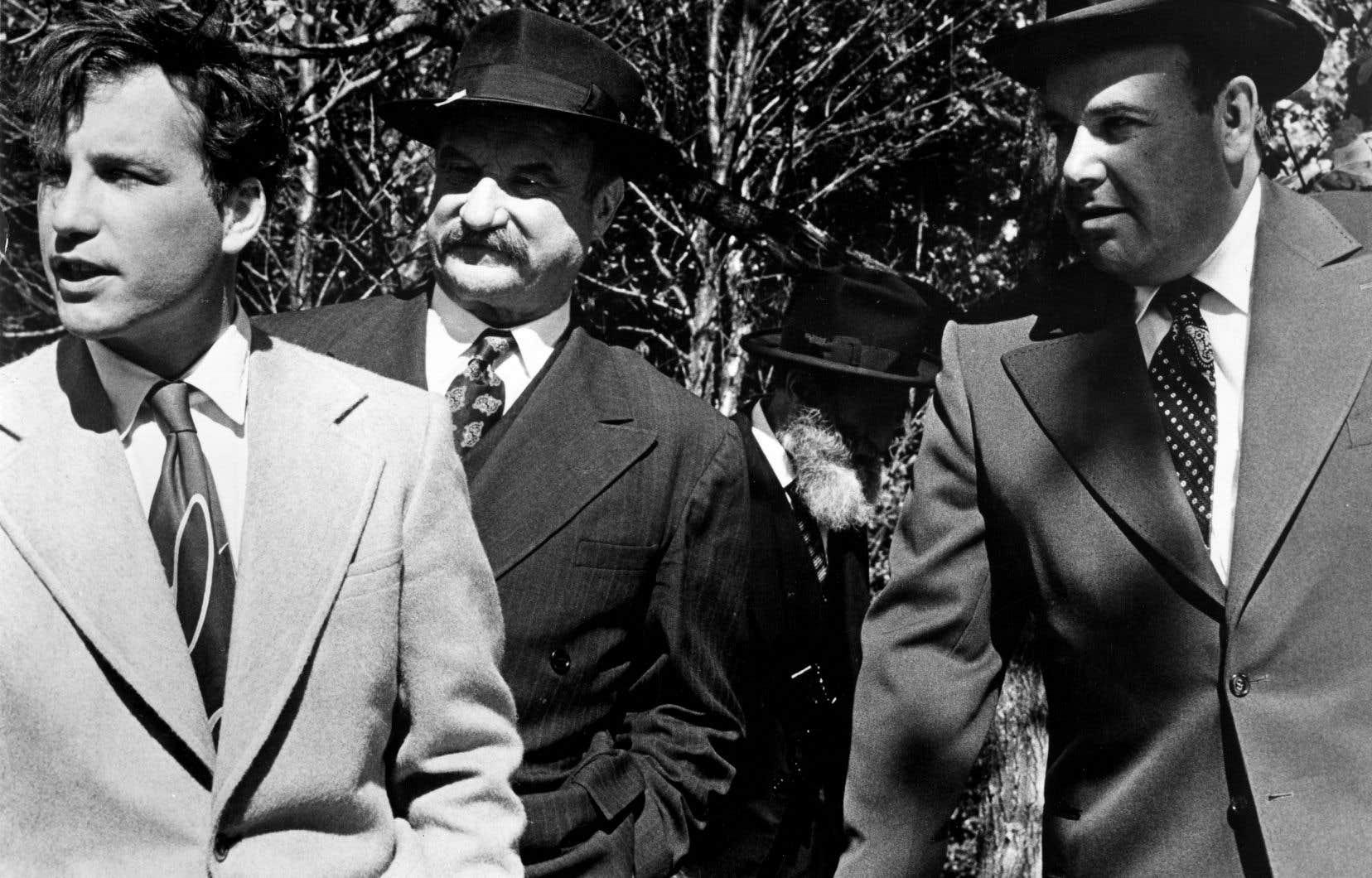 Une scène de «L'apprentissage de Duddy Kravitz», avec la présence d'acteurs américains (dont Richard Dreyfuss, à gauche, dans la peau de l'alter ego de l'écrivain Mordecai Richler, encore à ce jour un de ses plus grands rôles).