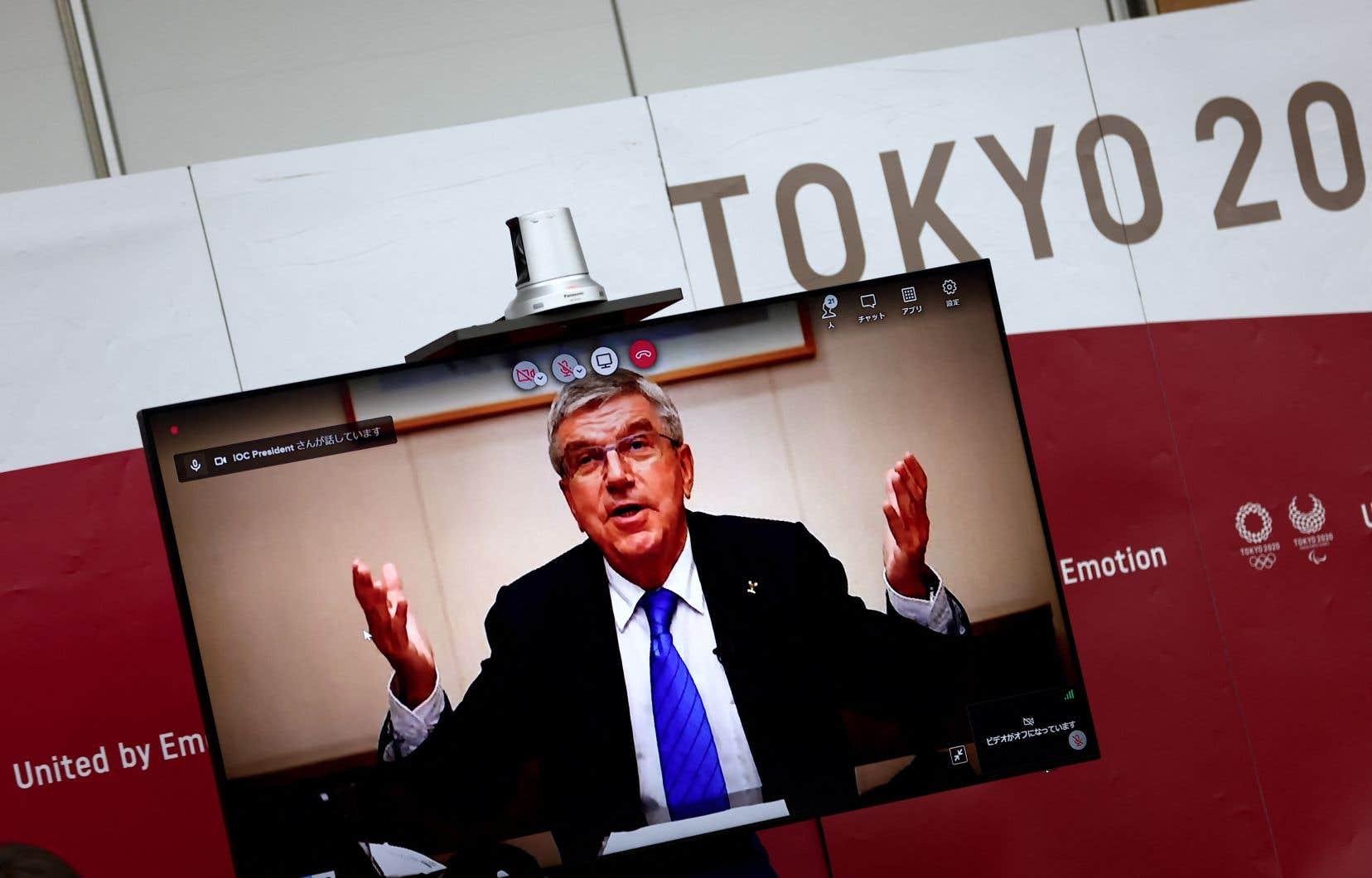 M.Bach a assuré à la présidente du comité d'organisation Tokyo 2020, Seiko Hashimoto, que les organisateurs faisaient «un travail fantastique».
