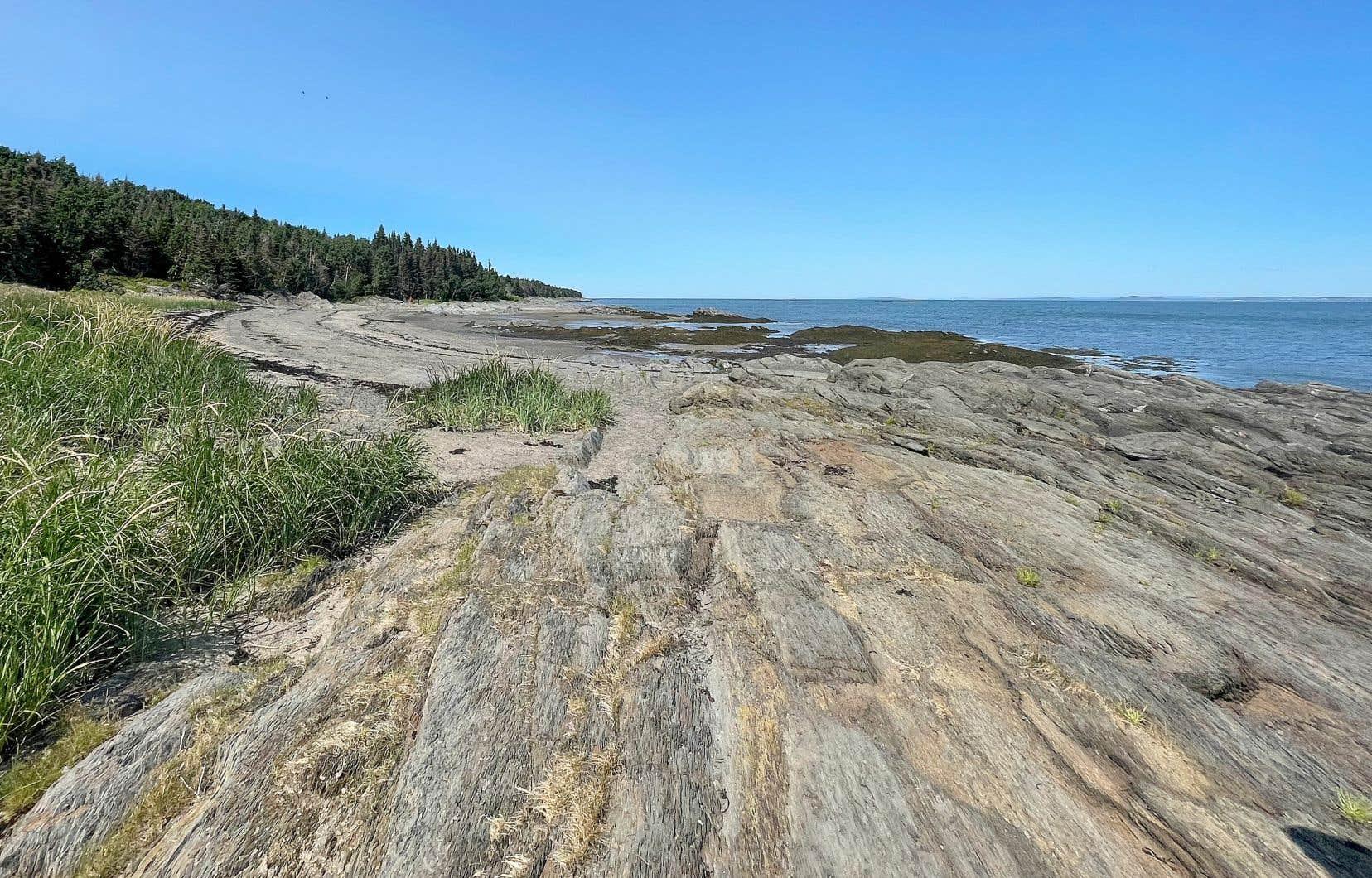 À une vingtaine de minutes de bateau de Rivière-du-Loup, l'île aux Lièvres est l'endroit tout indiqué pour une pause d'humains.