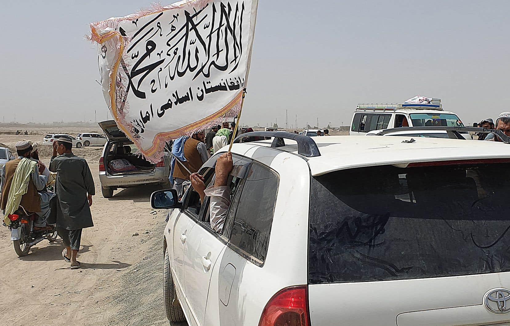 Les talibans ont pris le contrôle de vastes territoires ruraux dans le pays.