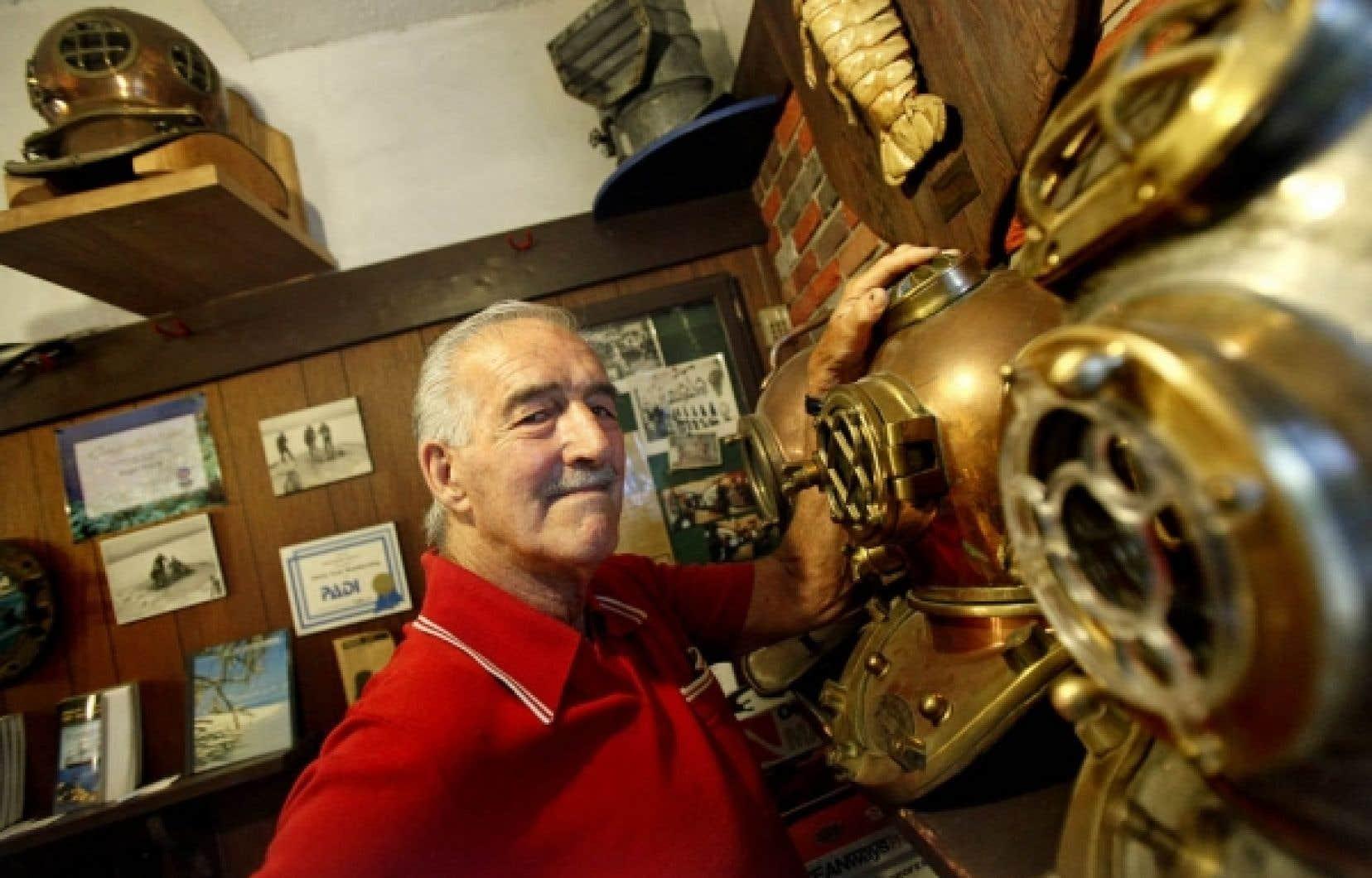 La boutique Bolan de Roger Boissy est une véritable caverne d'Ali Baba de la plongée sous-marine.<br />