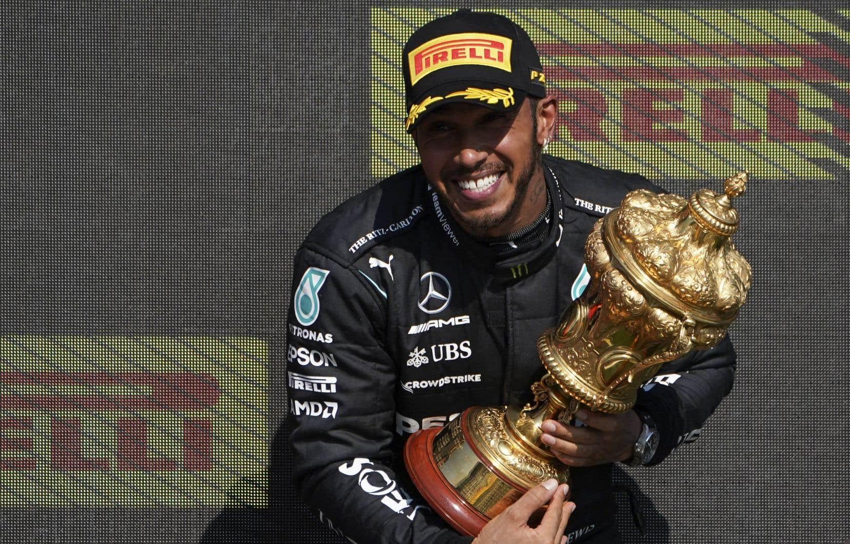 Septuple champion du monde, Hamilton a gagné sur la piste de Silverstone pour mettre fin à une séquence de cinq épreuves sans victoire.