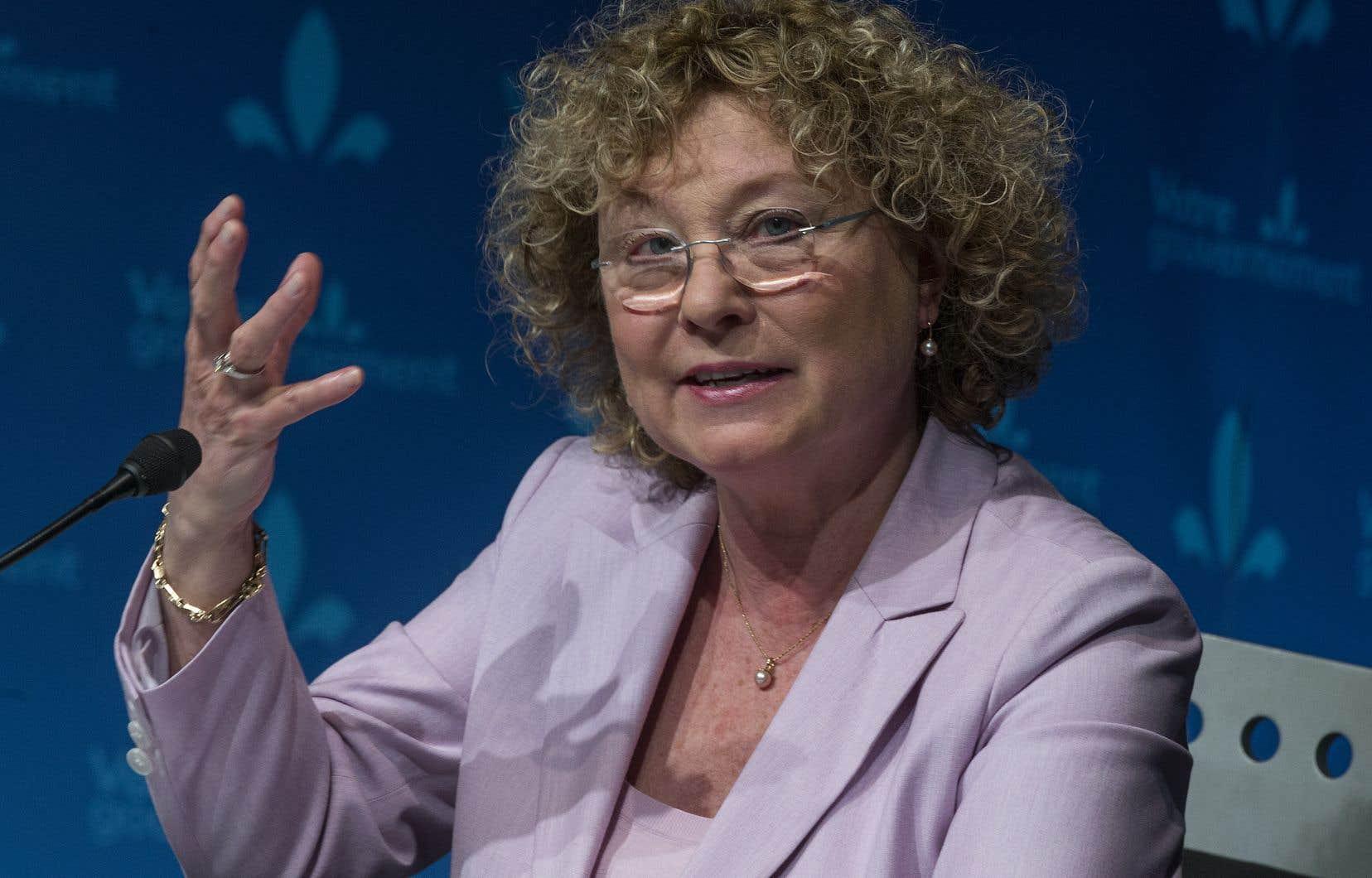 «Mon cabinet et moi-même suivons de très près la situation qui se déroule au CHSLD Argyle / RI Les Écluses à Saint-Lambert», a indiqué la ministre Marguerite Blais.