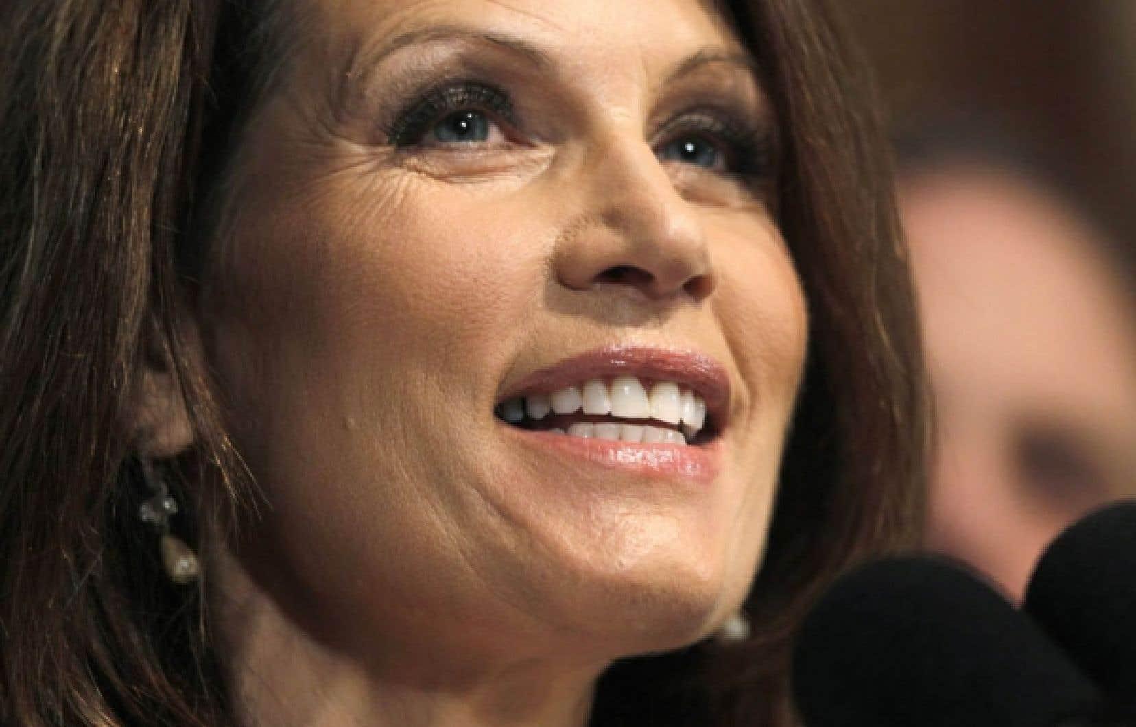 Michelle Bachmann, cette semaine à Washington: l'étoile montante du Tea Party.<br />